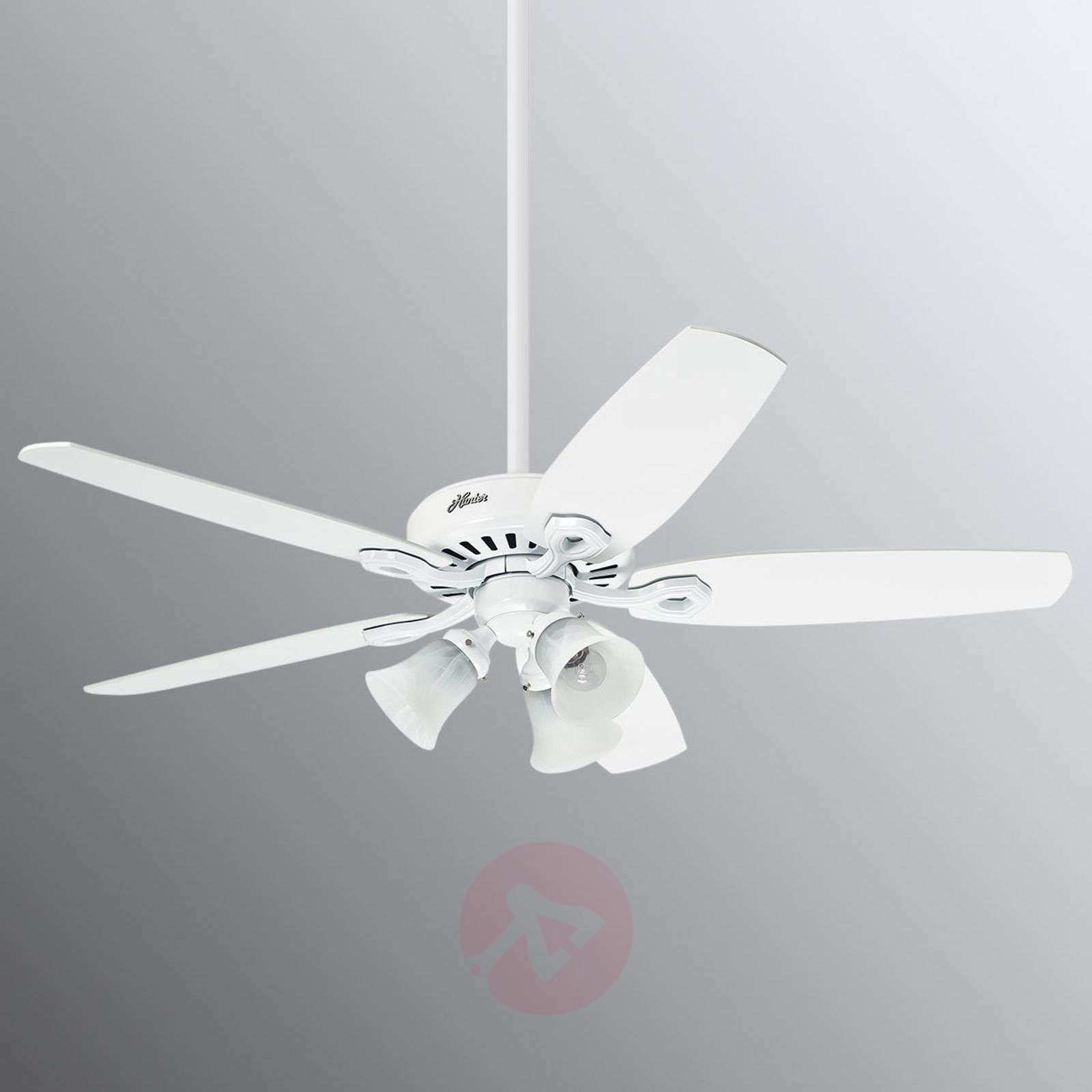Hunter Builder Plus white ceiling fan-4545010-01