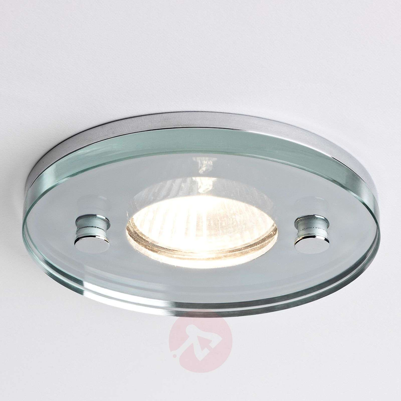 Ice Round Built-In Ceiling Light Attractive-1020106-02