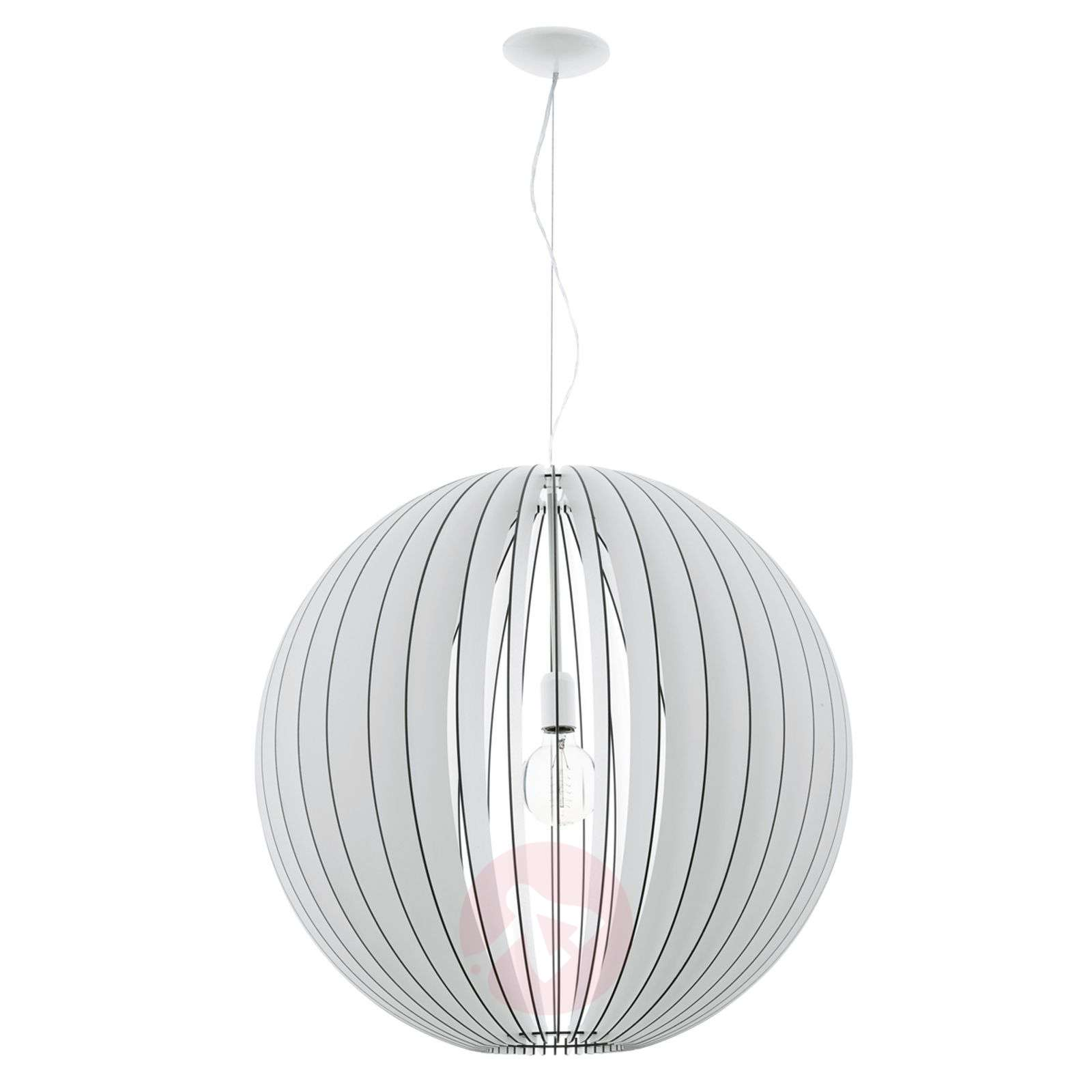 Imposing Cossano hanging light with wooden slats-3031826-01