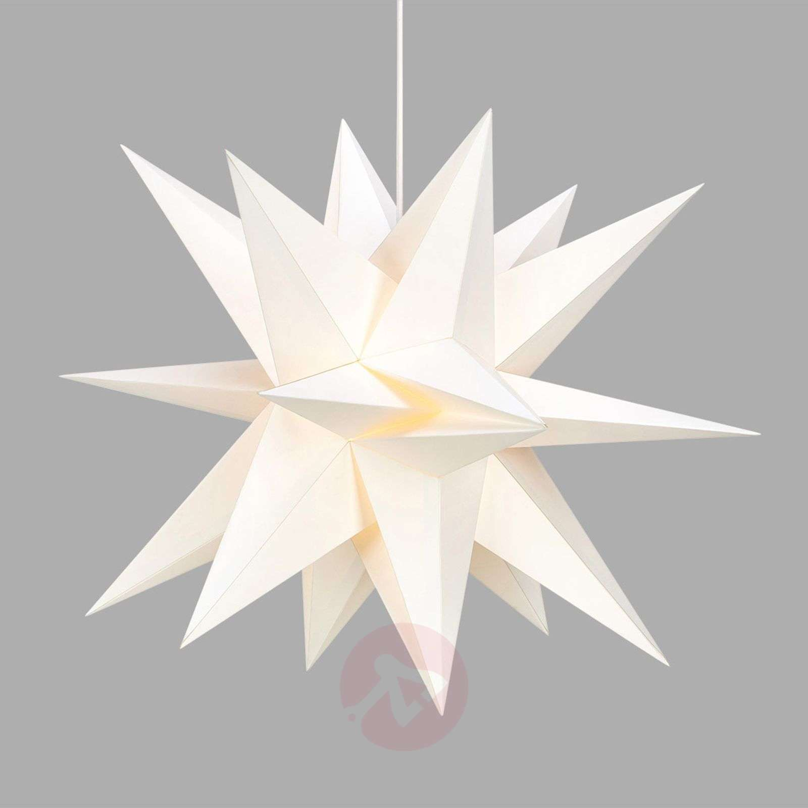 In a 3D look white paper star Skillinge-6507515-01