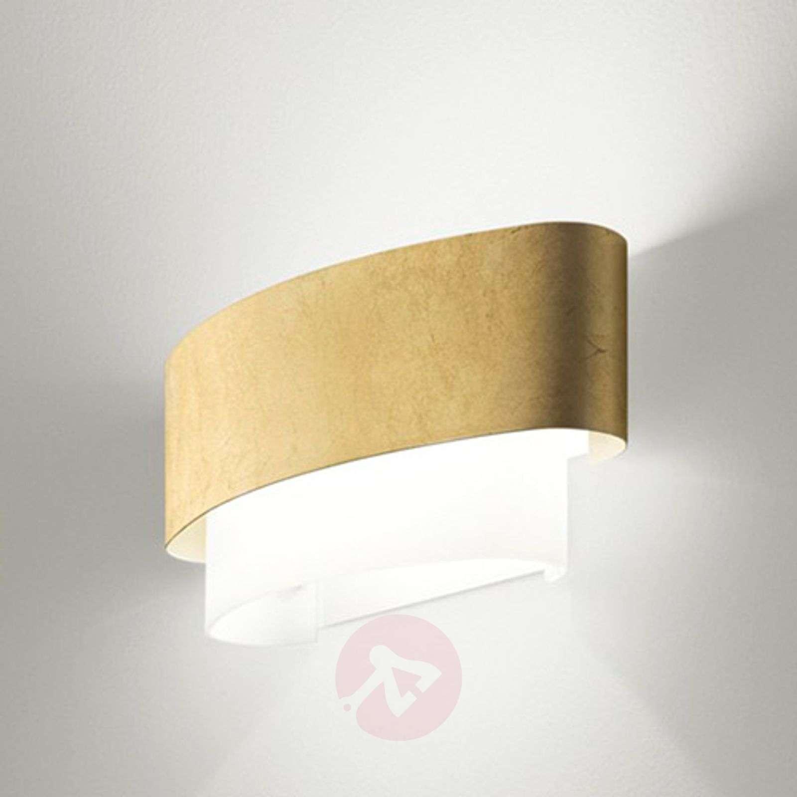 In a gold leaf look Matrioska wall light-6042268-01