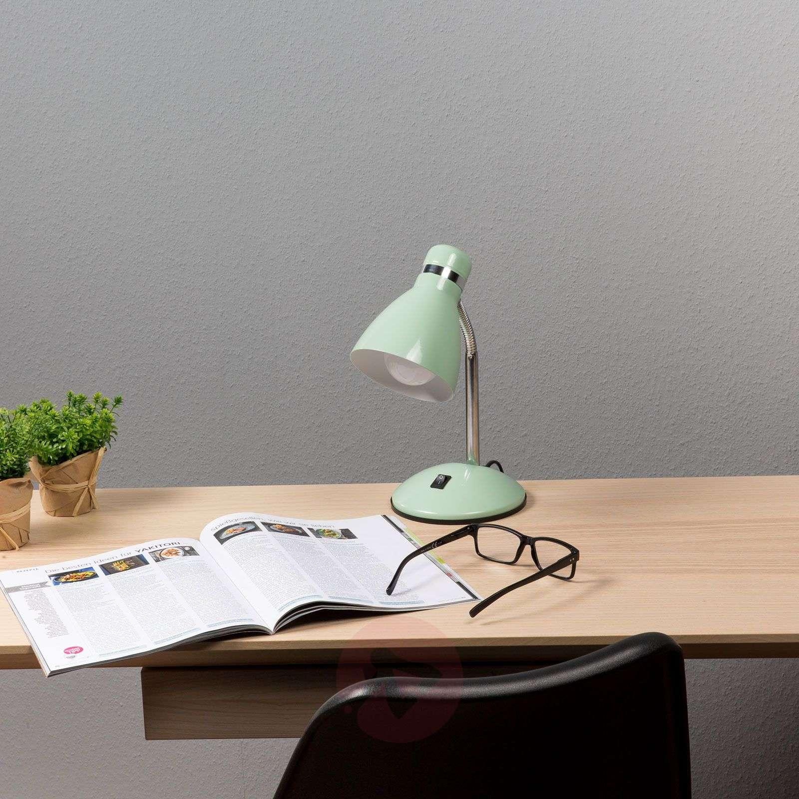 In turquoise trendy desk lamp Studio-3004198-01