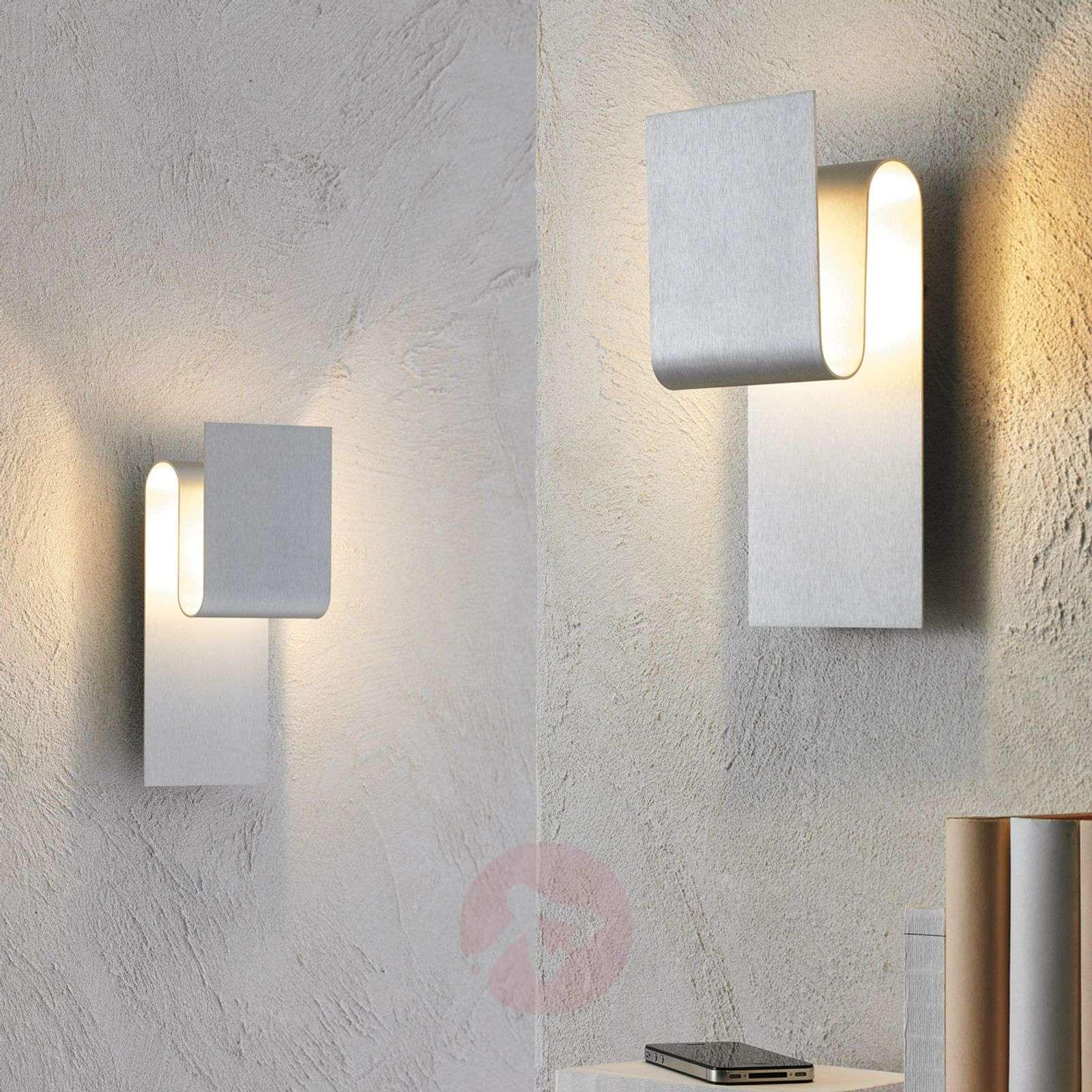 indirect wall lighting. Indirect Light LED Wall Fold, Aluminium-3051124-01 Lighting