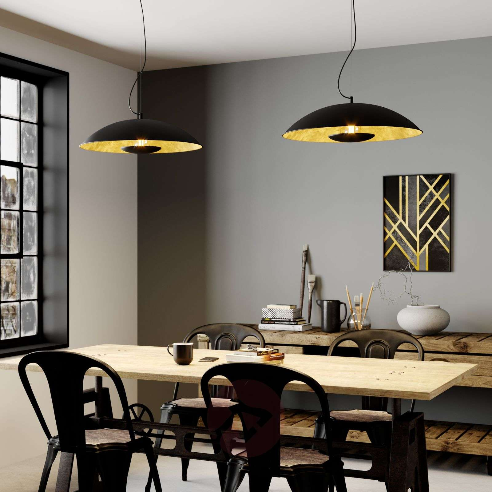 Indirect-shining pendant light Emilienne-9621480-01