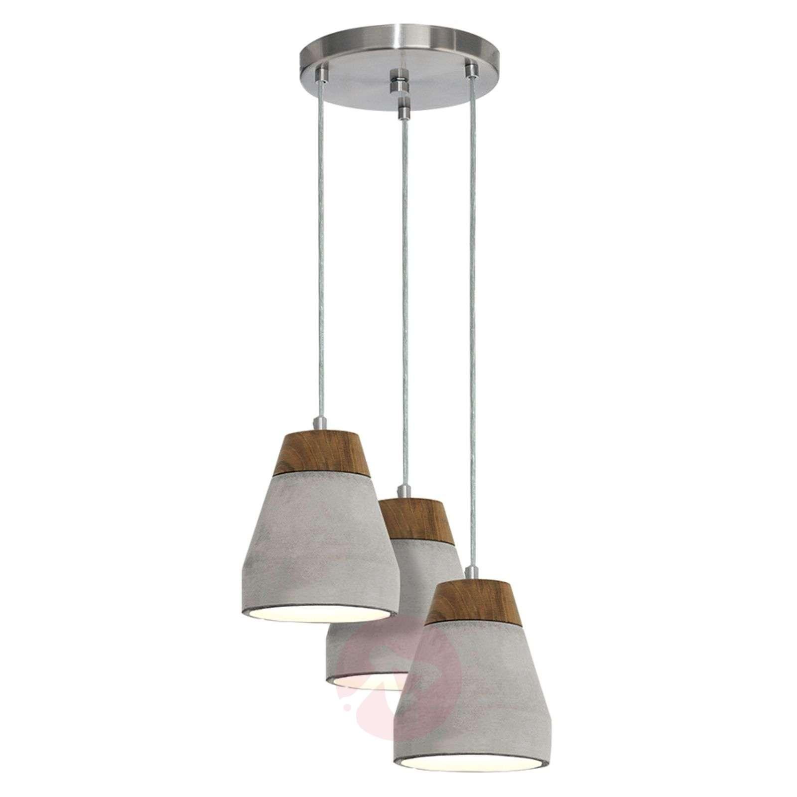 Industrial-looking Tarega pendant light-3031931-01