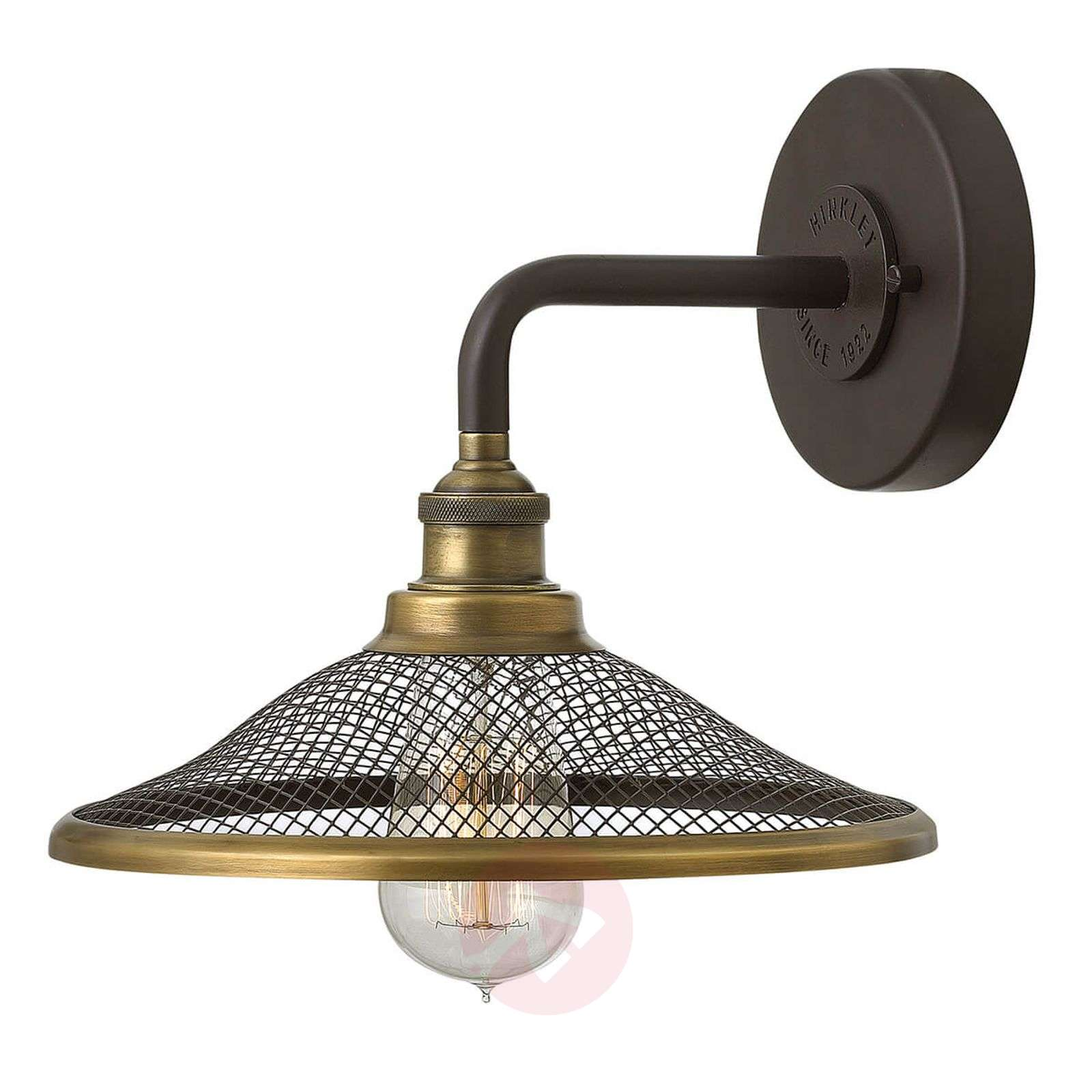 low priced bdbd8 3bde9 Industrial style wall light Rigby