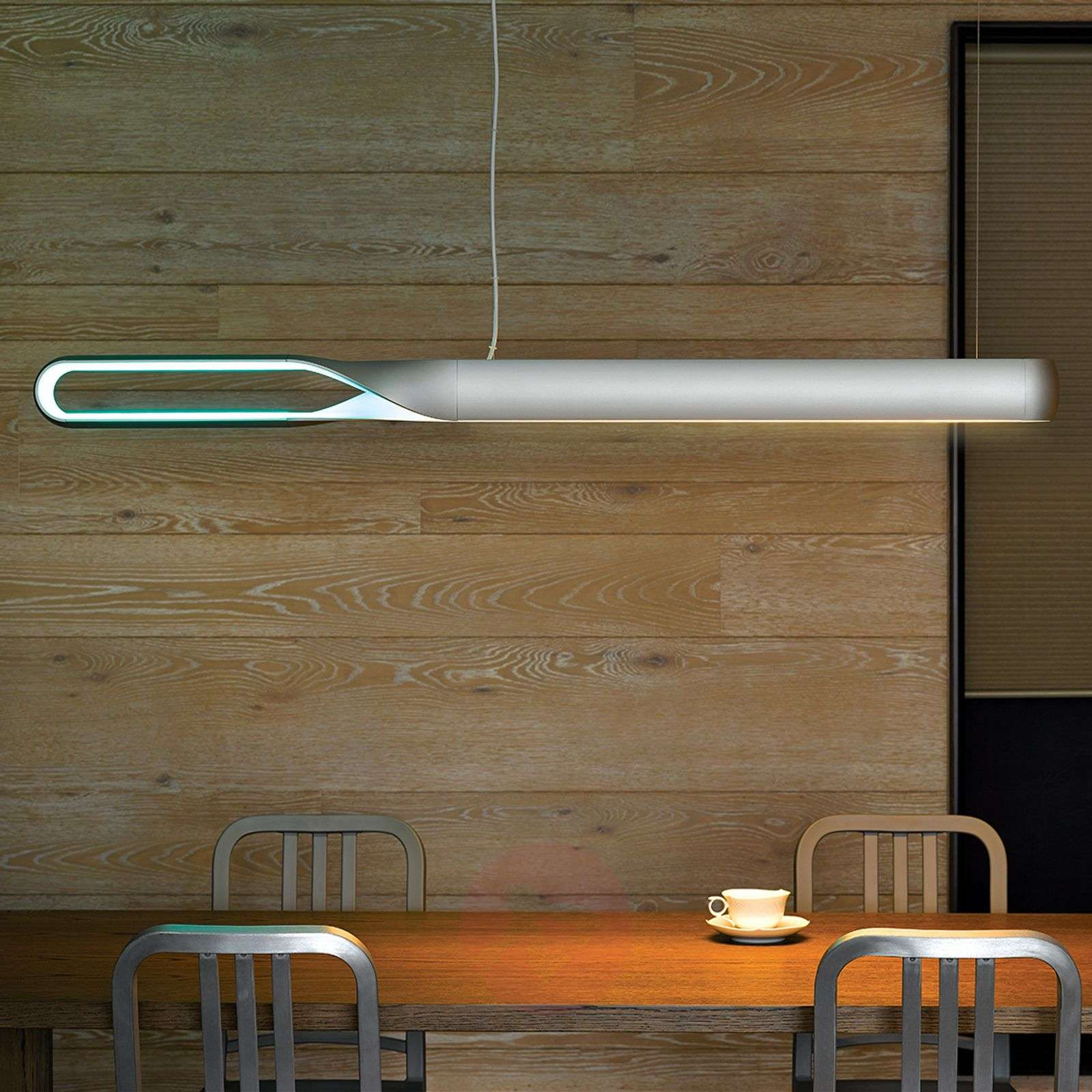 Infinito designer LED hanging light with RGB LEDs-7751030-01