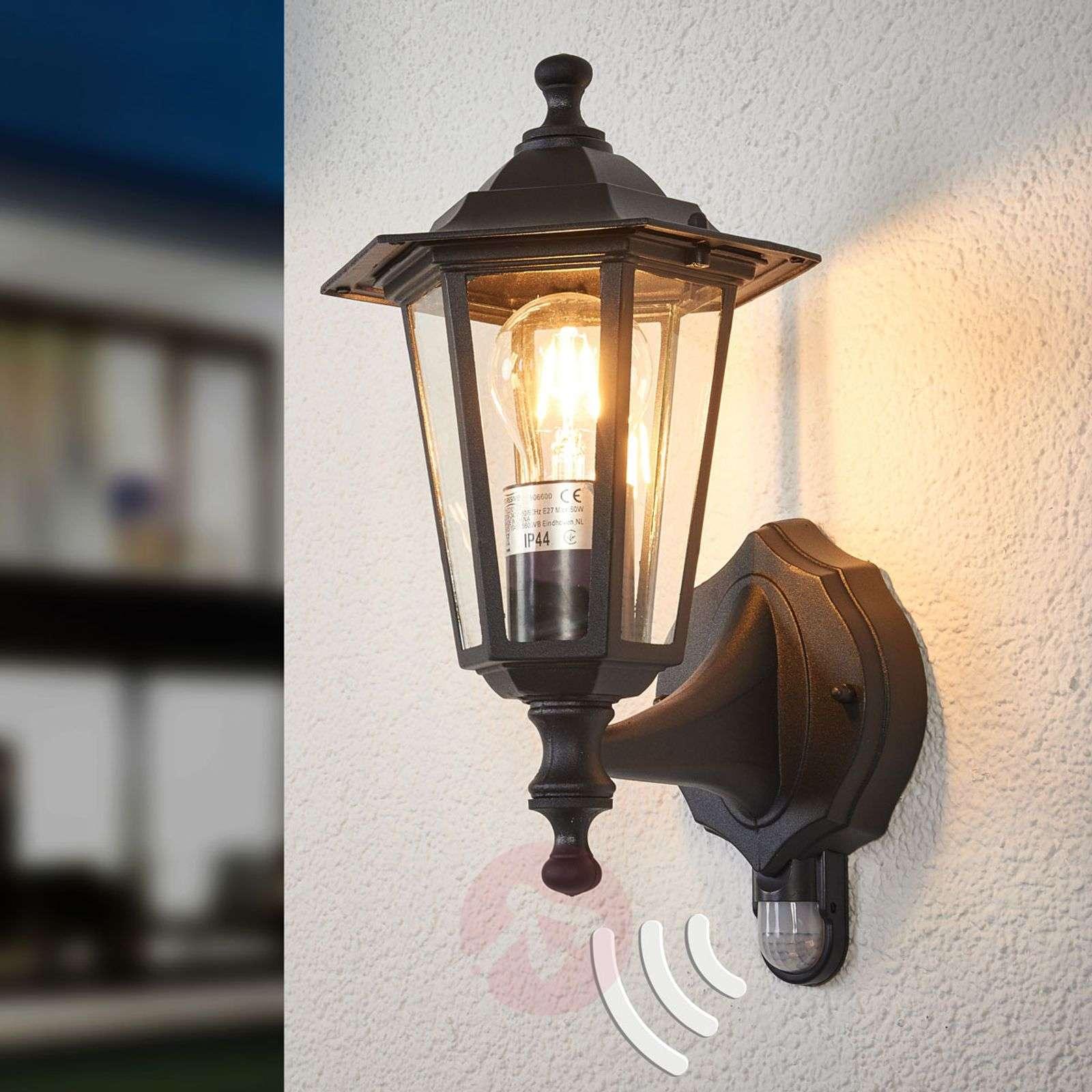Infrared outdoor light PEKING black-6500209-02