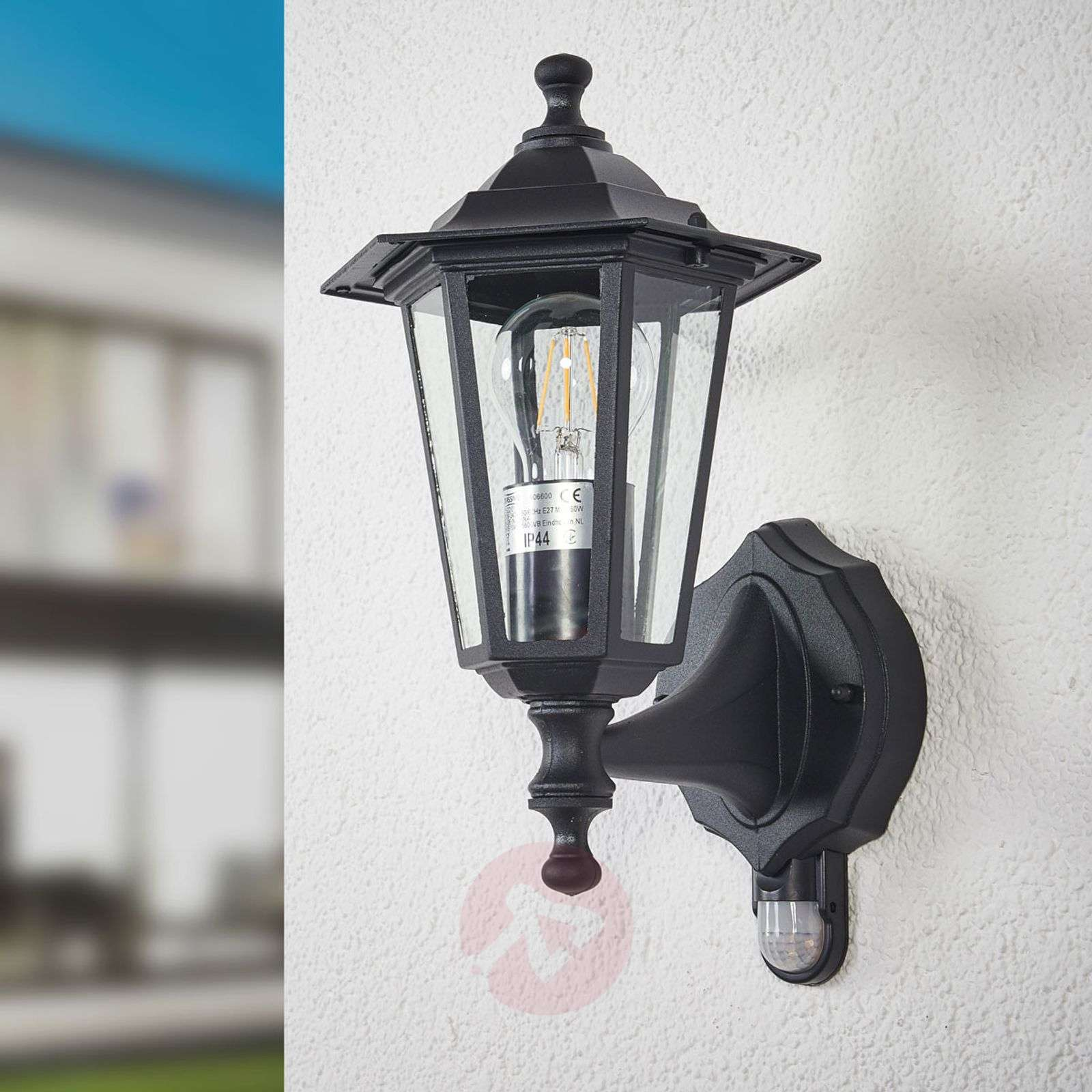 Infrared outdoor light PEKING black-6500209-02