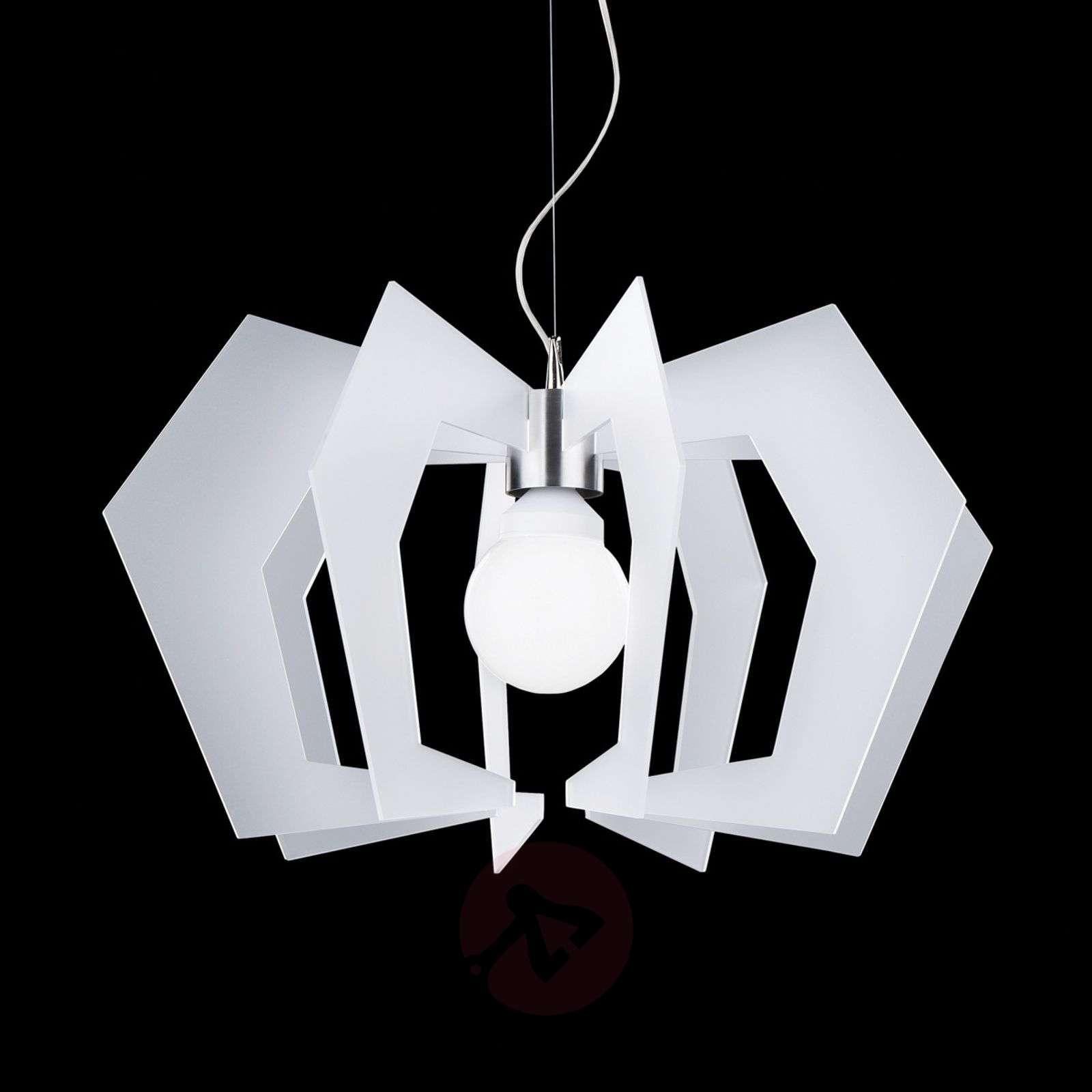 Innovative designer hanging light Spider, white-1056001-01