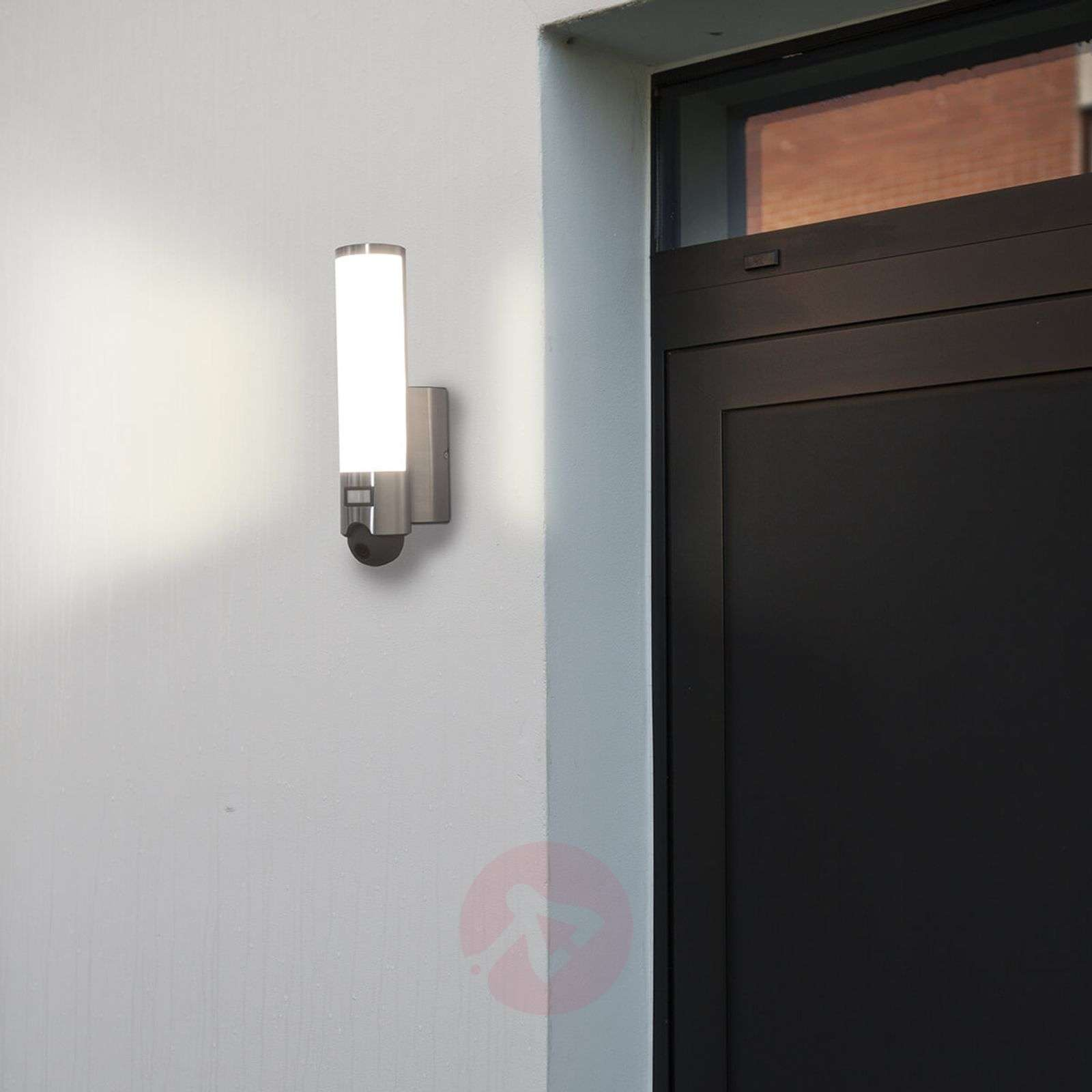 Integrated camera LED outdoor wall lamp Elara Cam-3006507-01