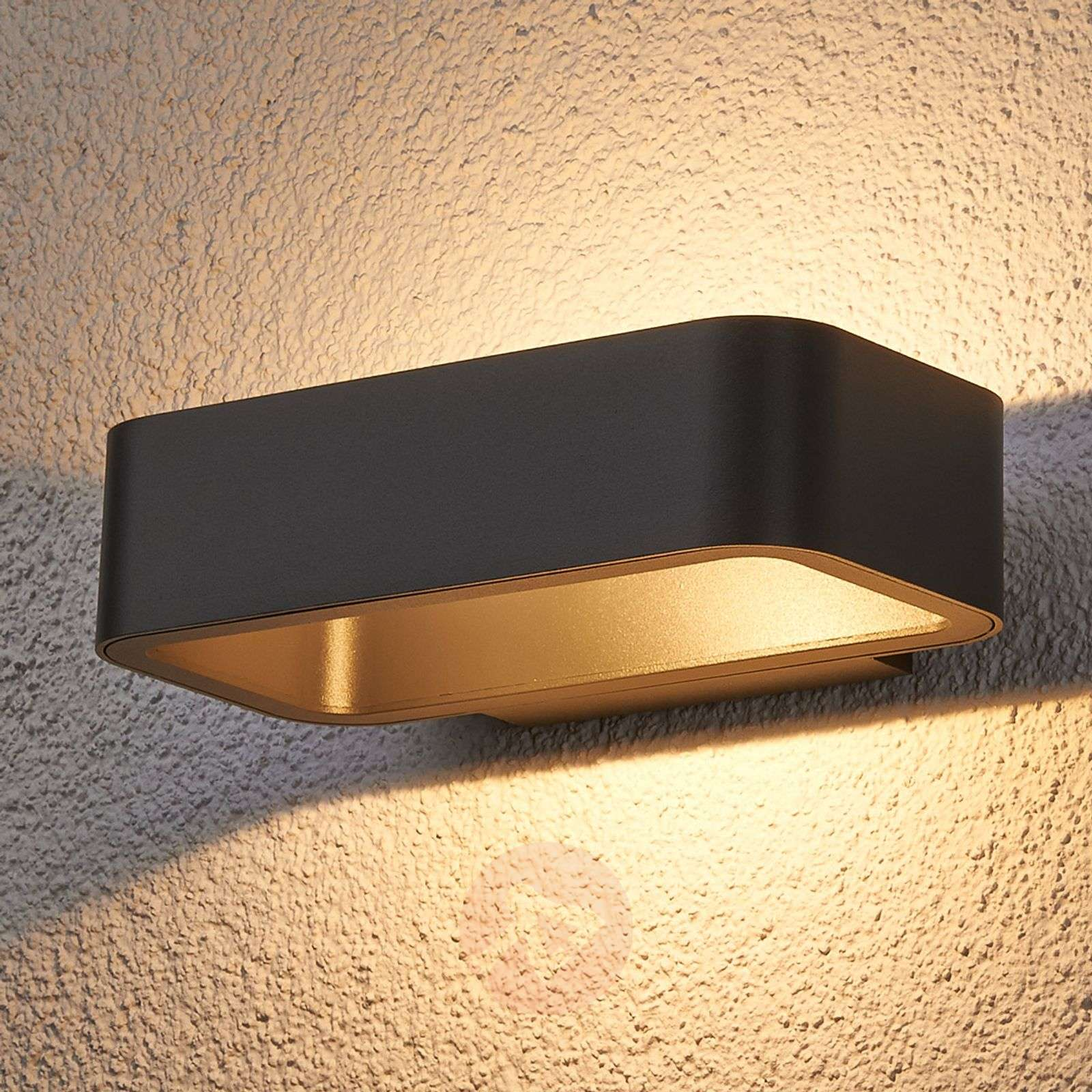 Jami LED outdoor wall light made of aluminium-9616028-01
