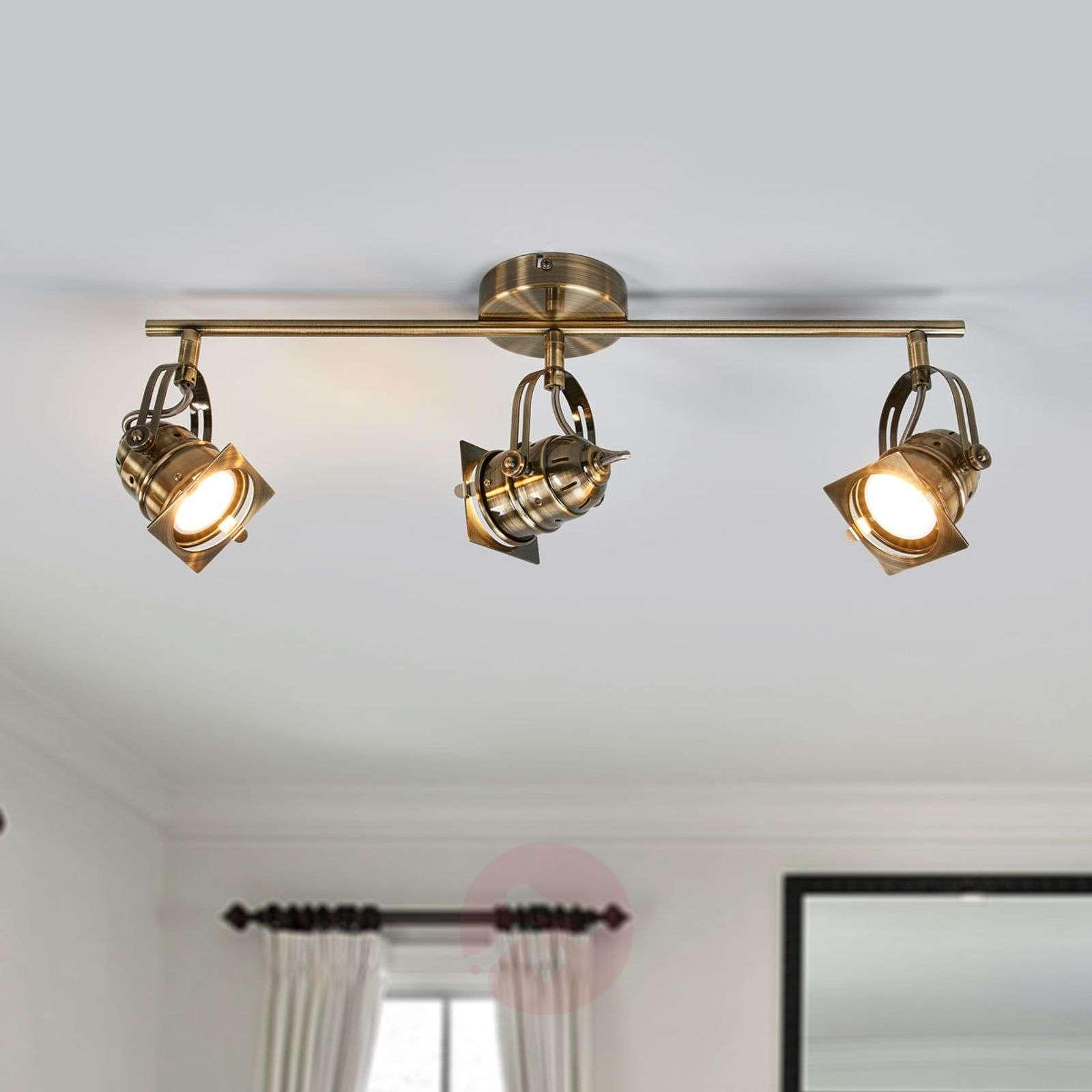 Janek Three Bulb Led Gu10 Ceiling Light 9639079 01