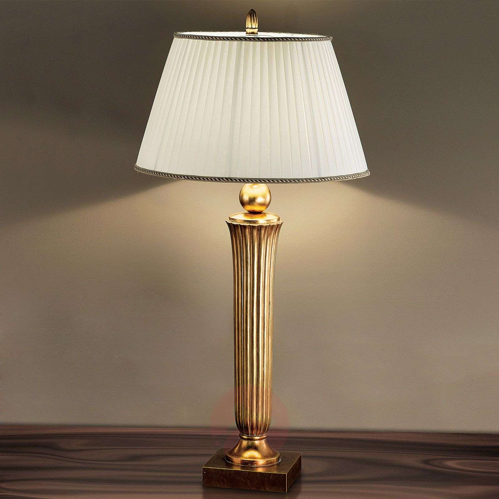 Janni Floor Lamp Charming Warm Gold Tone-7254285-01