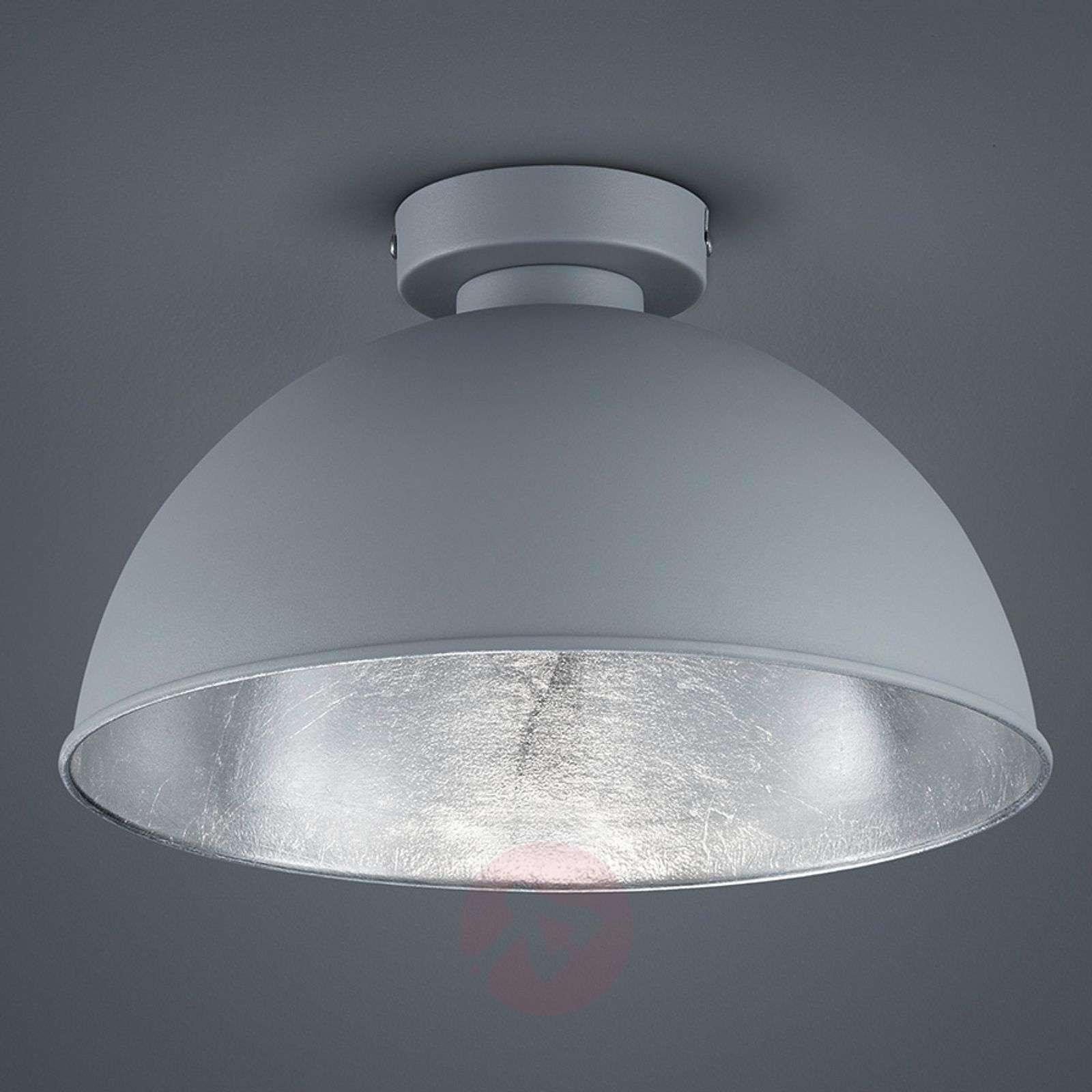 Jimmy metal ceiling light in grey/silver-8029094-01