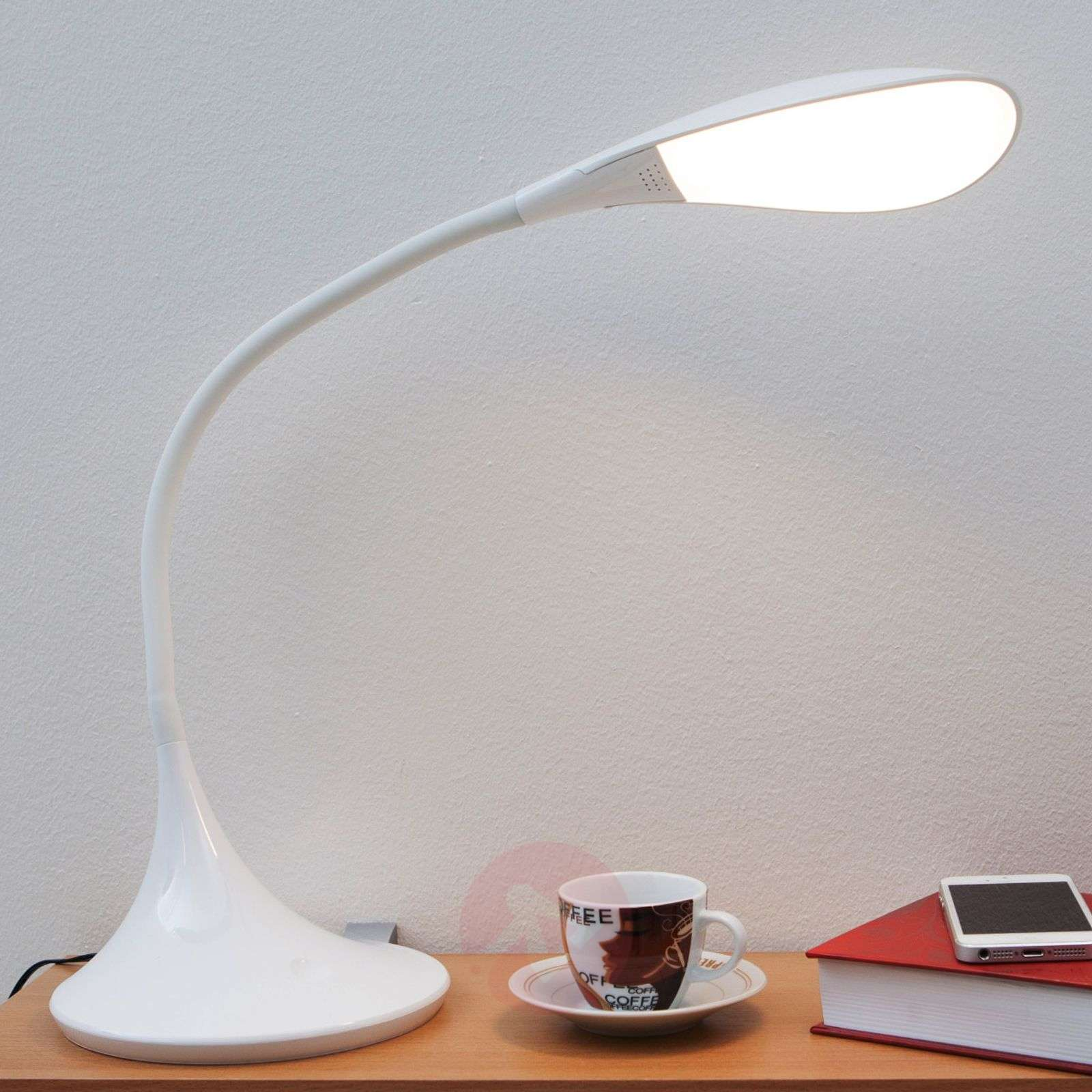In Led White JosiaDimmable Desk Lamp nvOyN8wmP0