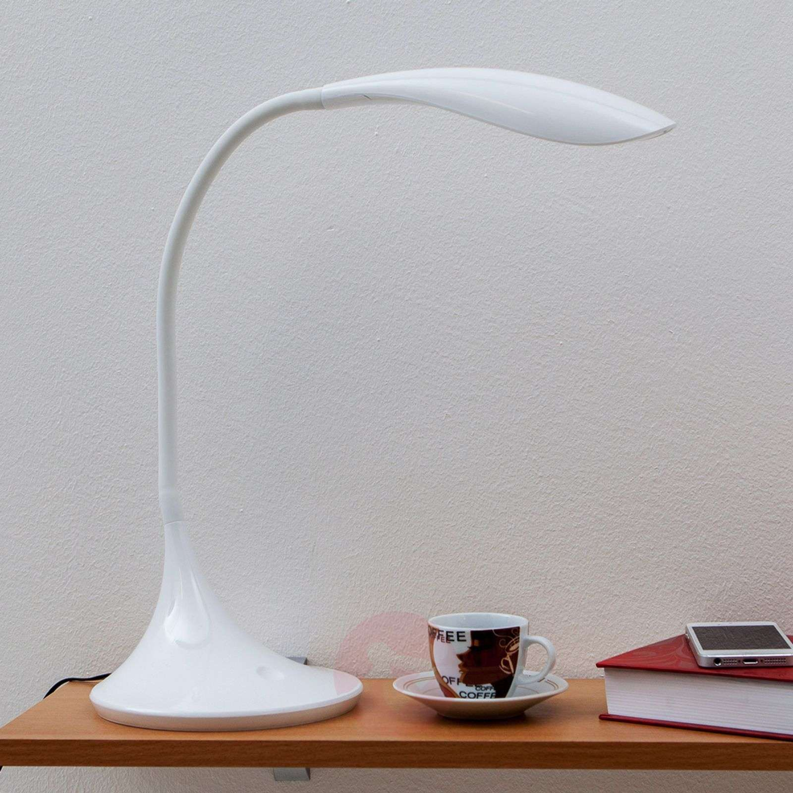 Josia Dimmable Led Desk Lamp In White Lights Ie
