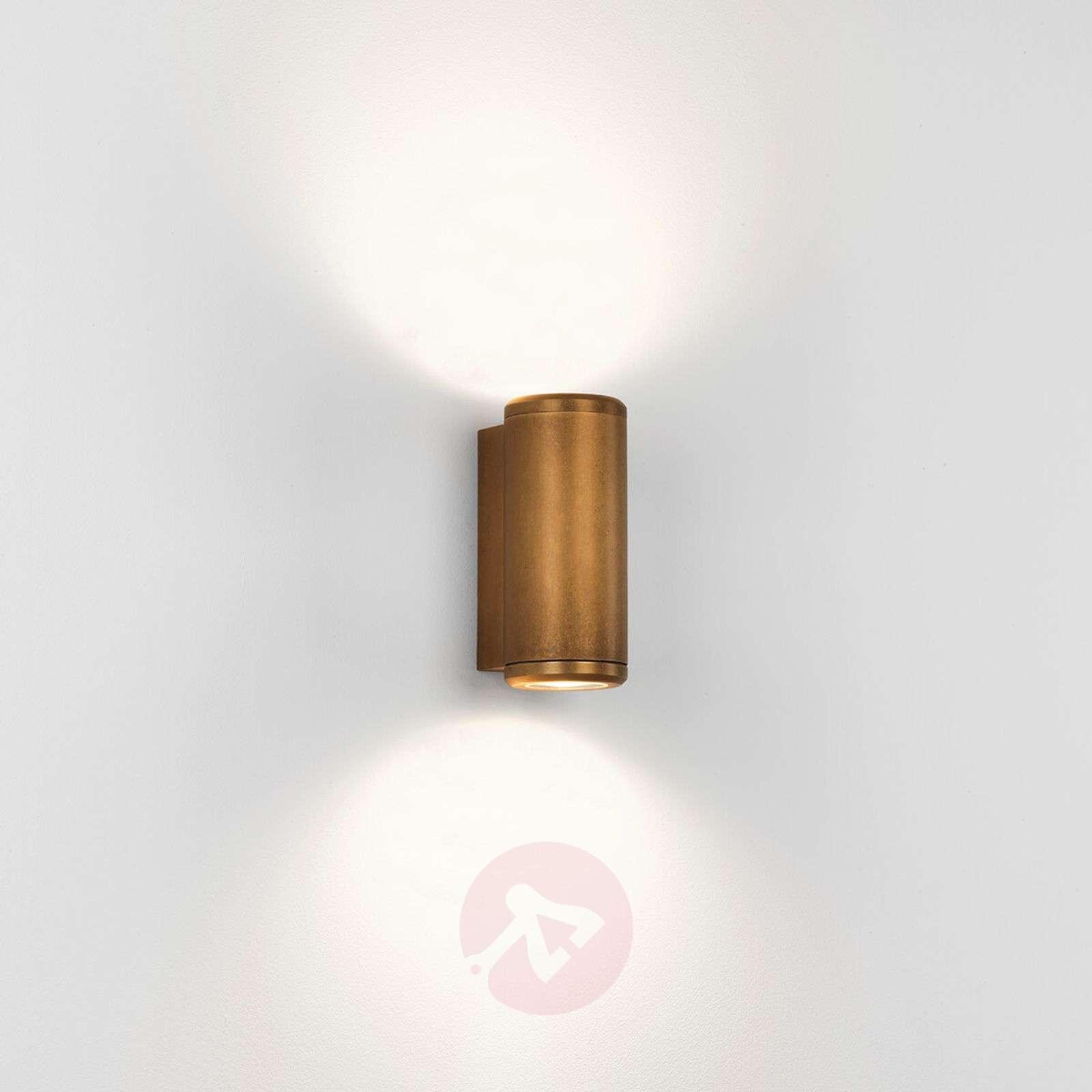 Jura Twin chic outdoor wall light made of brass-1020576-01