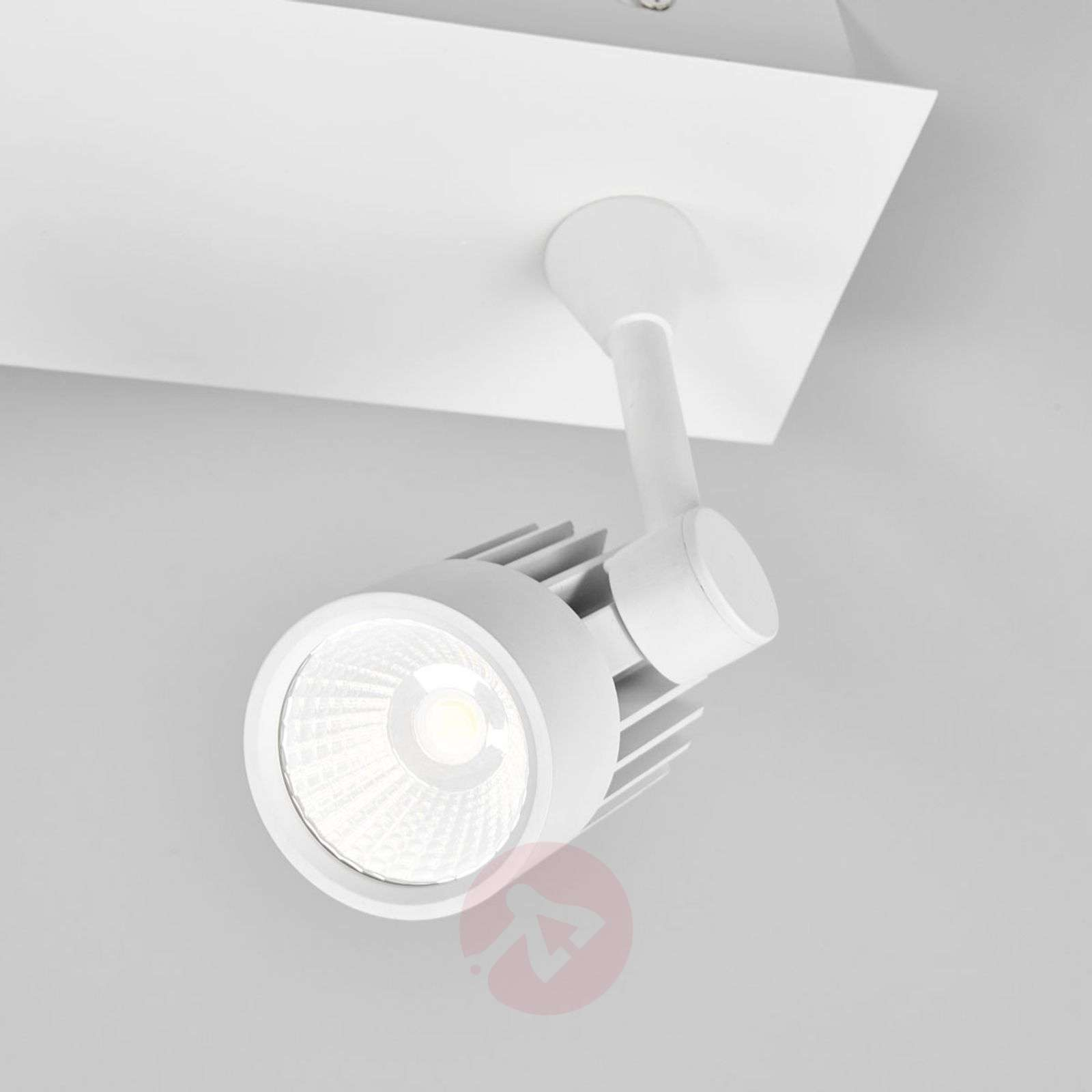 Justus two-bulb LED recessed/surface light-9967022-02