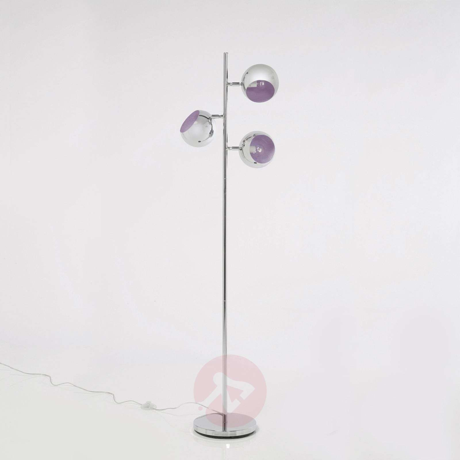 KARE Calotta three-bulb retro style floor lamp-5517030-01