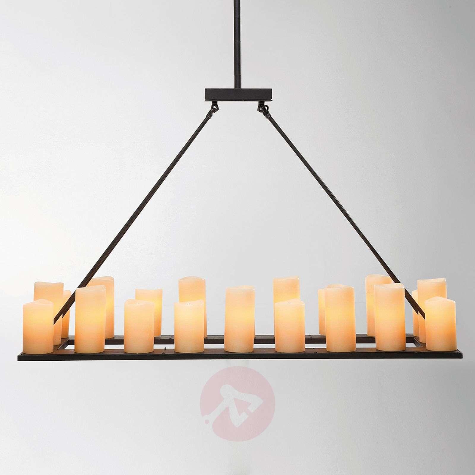 KARE Candle Light 20-bulb hanging light-5517370-01