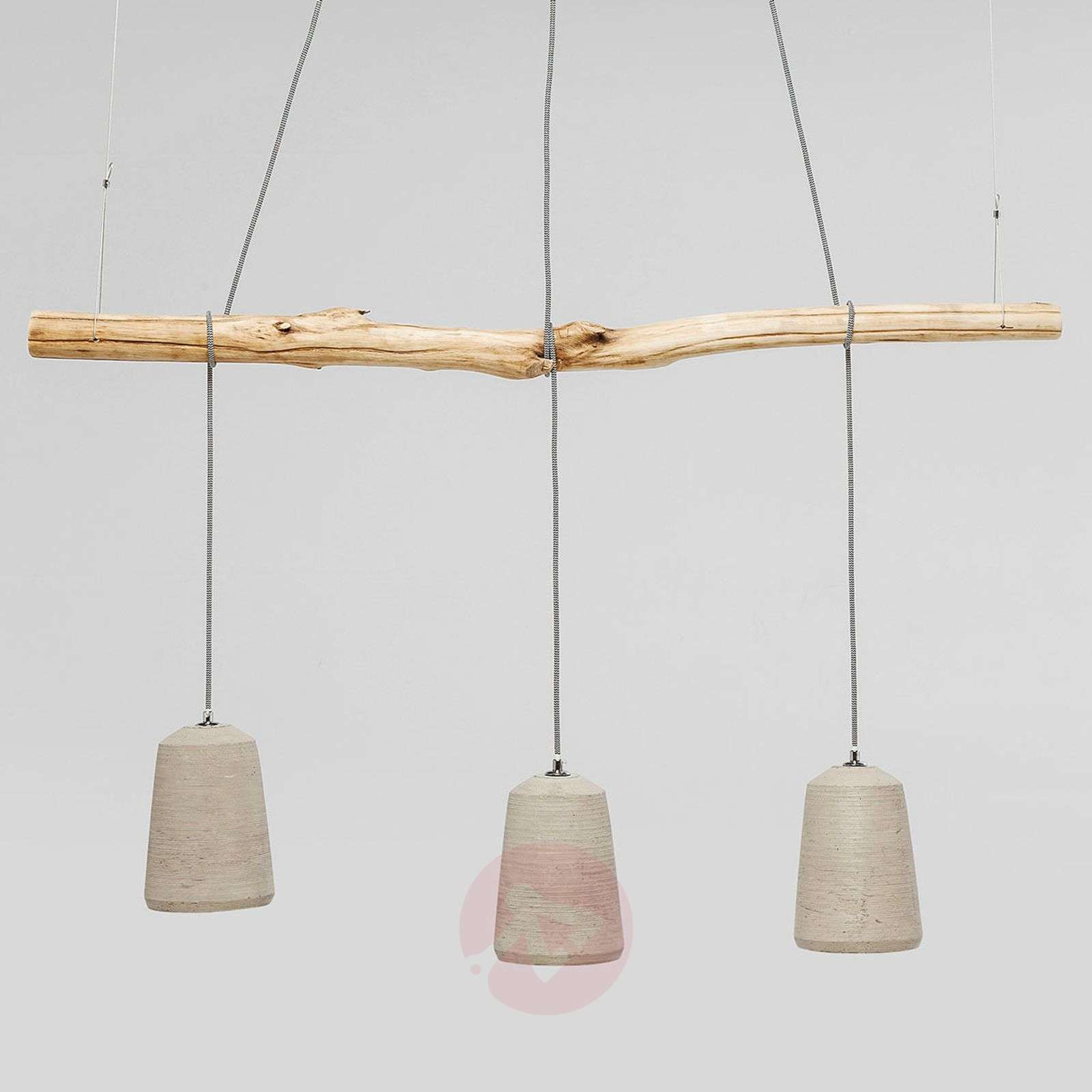KARE Dining Concrete hanging light-5517540-01