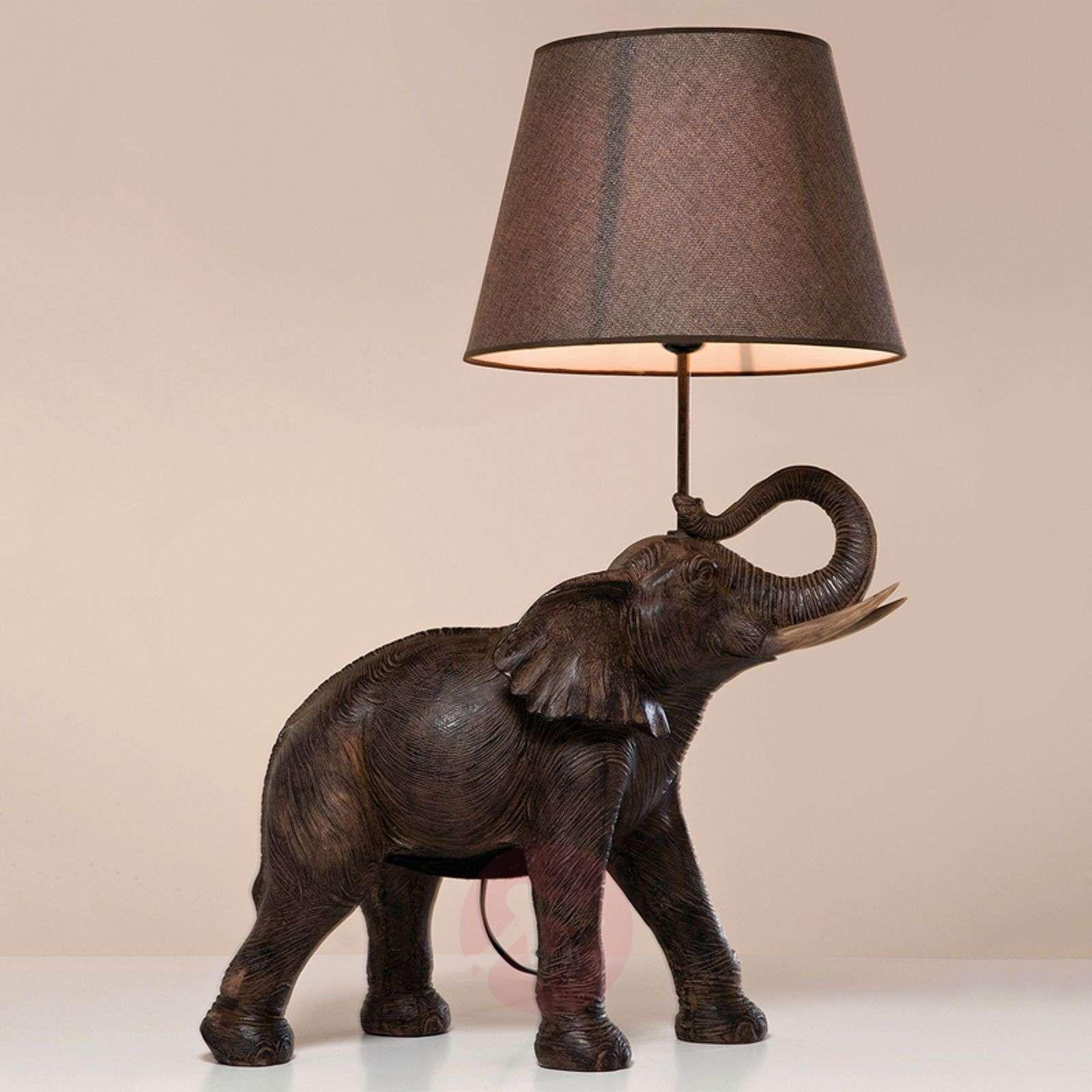 KARE Elephant Safari table lamp-5517465-01
