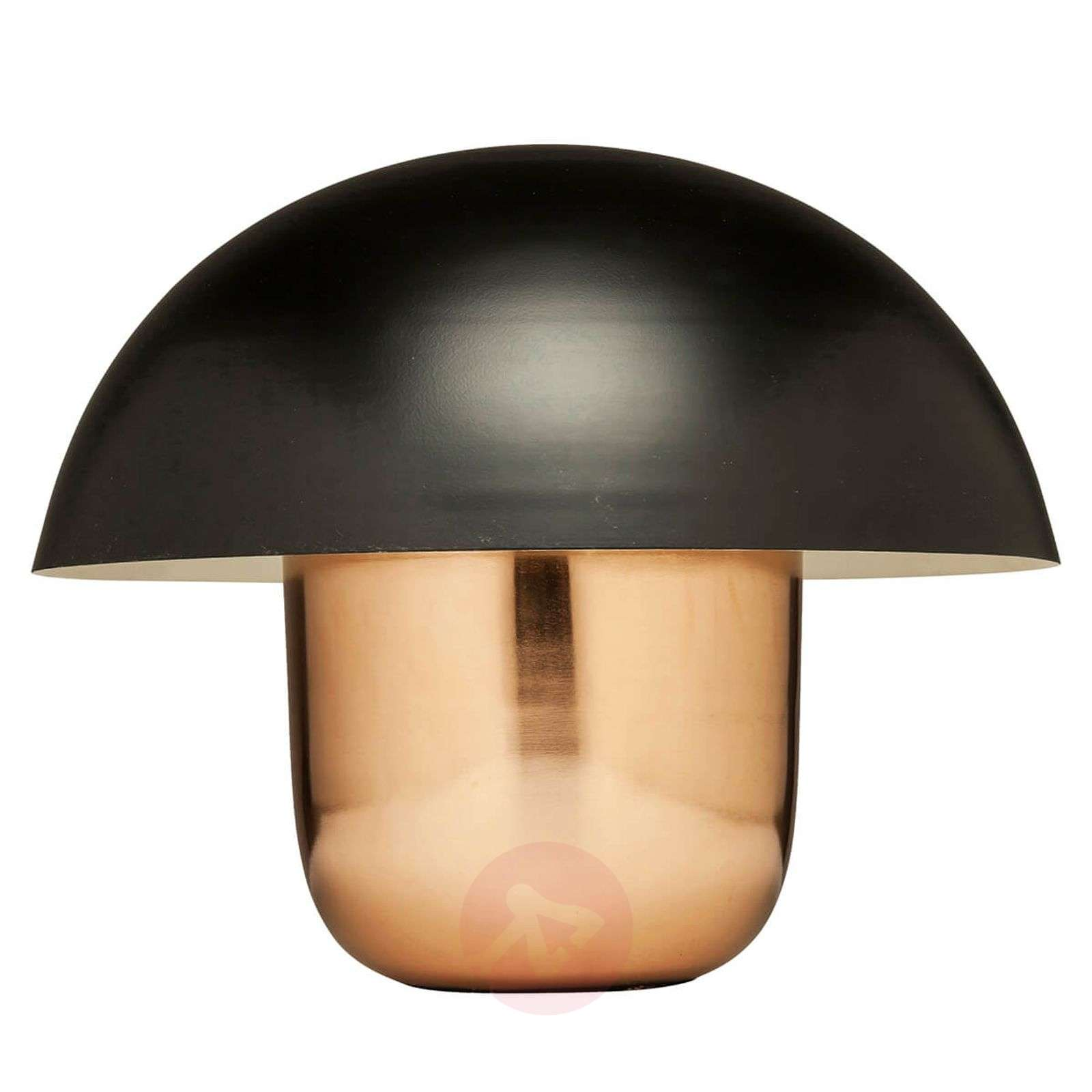 KARE Mushroom table lamp, copper-black-5517520-01