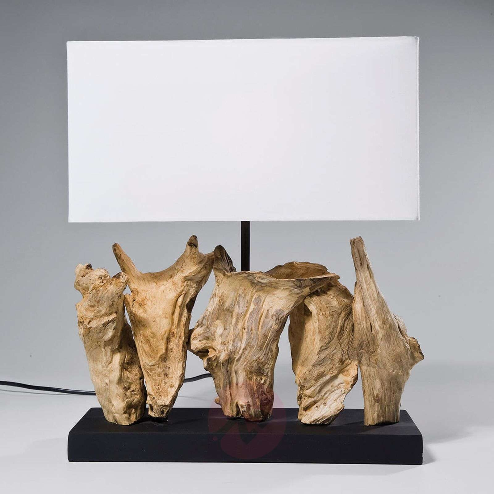 KARE Nature Vertical table lamp with driftwood-5517514-01