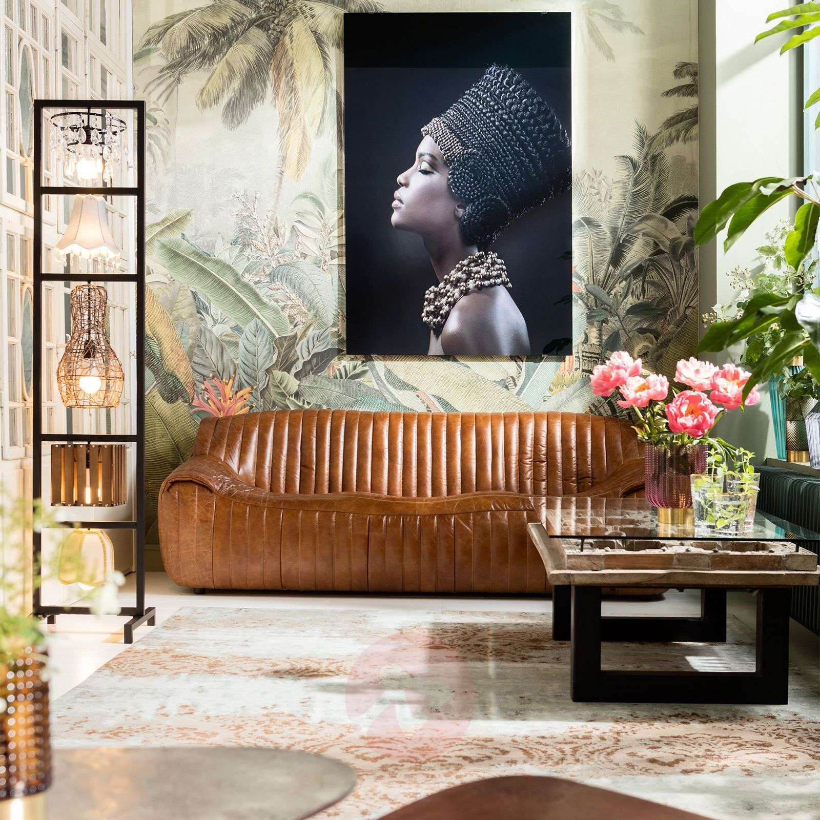 KARE Parecchi Art House floor lamp-5517445-01