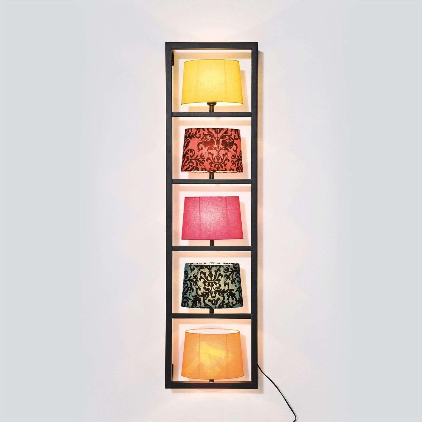 Kare Parechhi framed wall light, five-bulb-5517006-01