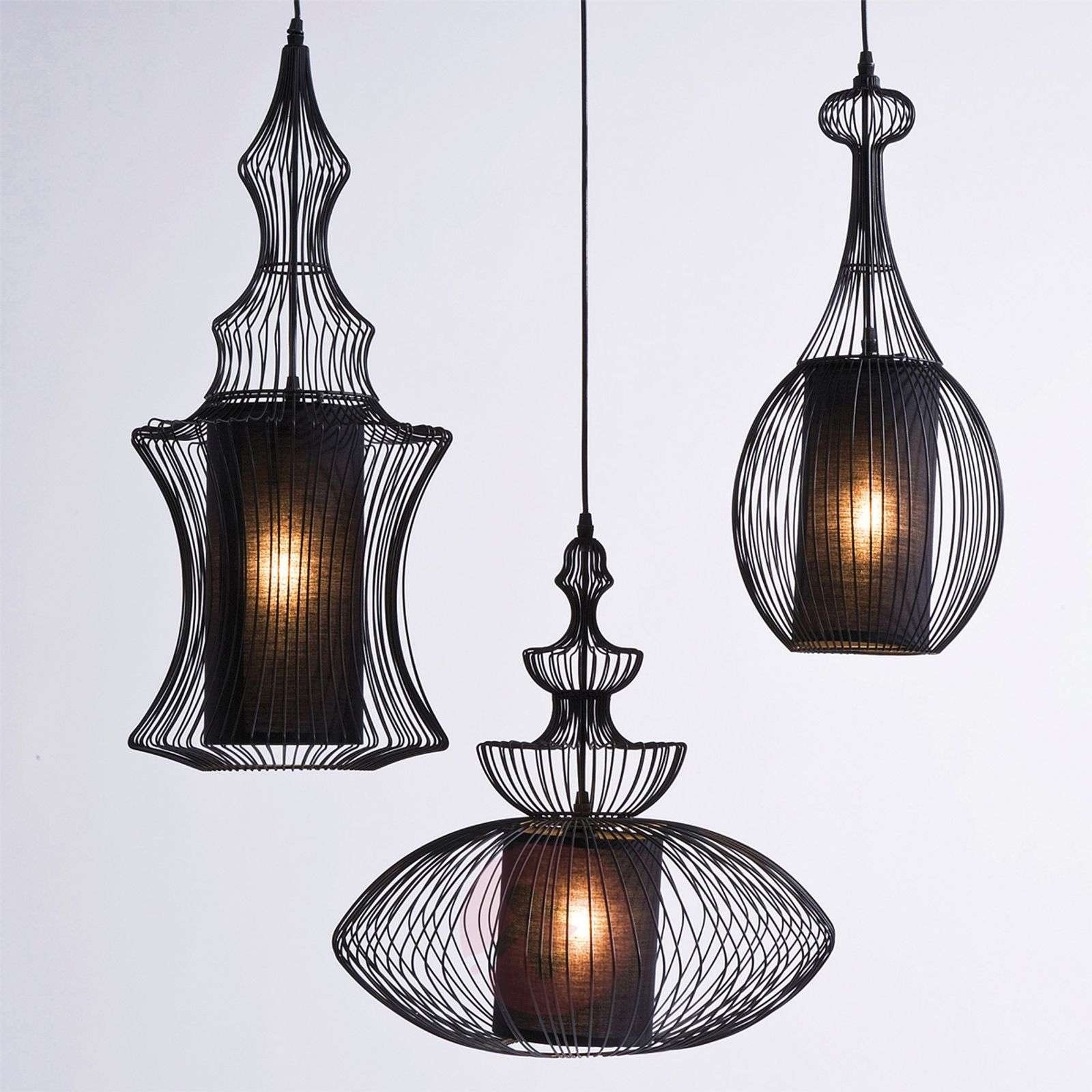 KARE Swing Iron Tre opulent hanging light-5517172-01