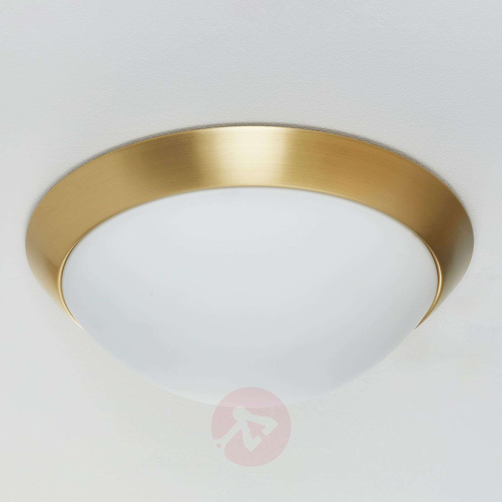 Katrin Ceiling Light in Brass Look IP44-4536103-01