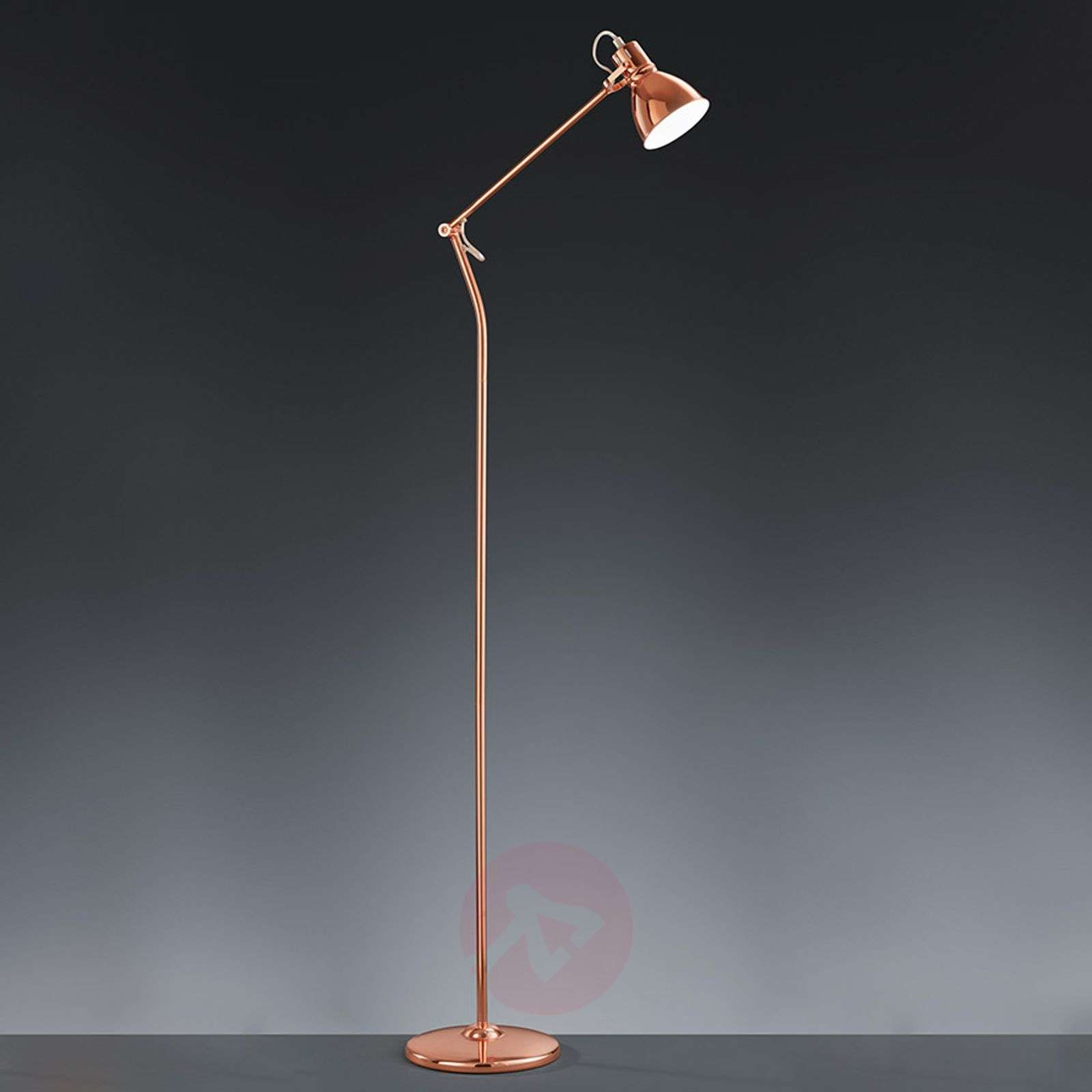 Keali floor lamp, copper-coloured-9004958-01