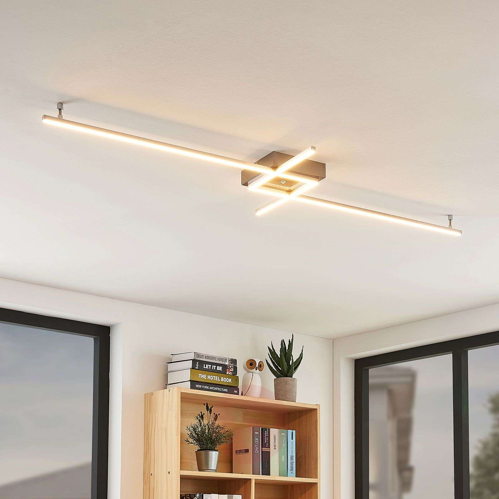 Keki LED ceiling light with remote control-7620043-04