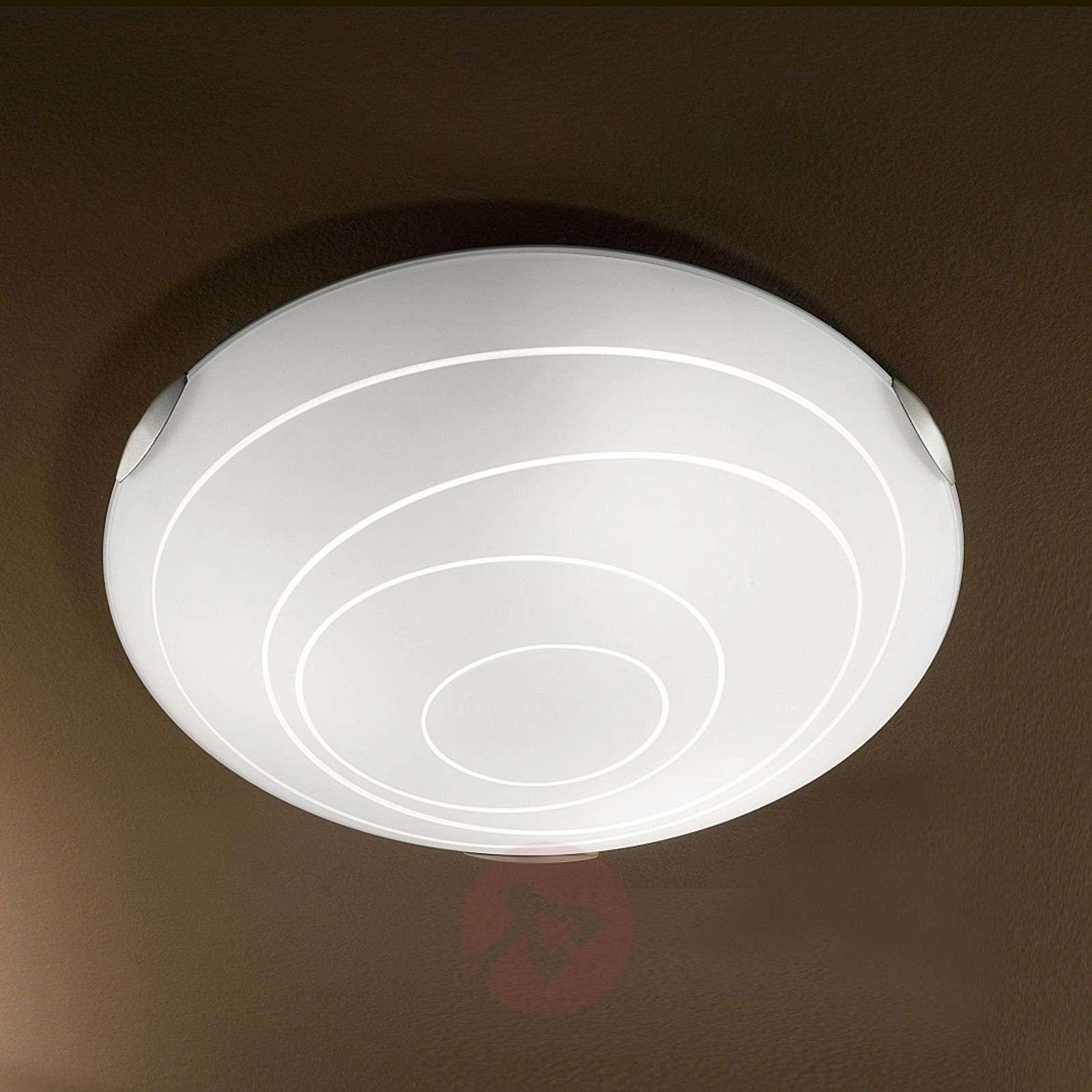 Kent Ceiling Light Round White-3502199-01