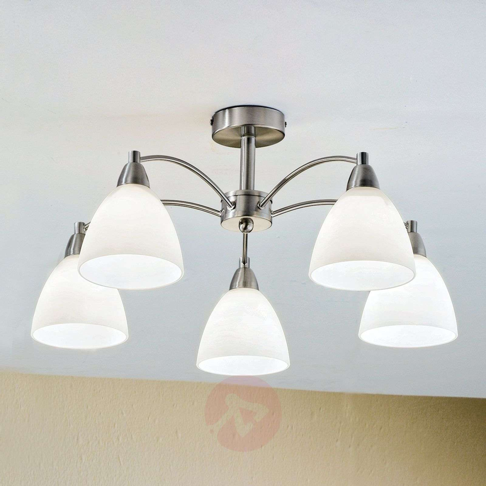Kinga Ceiling Light Fascinating Nickel-7253785-01