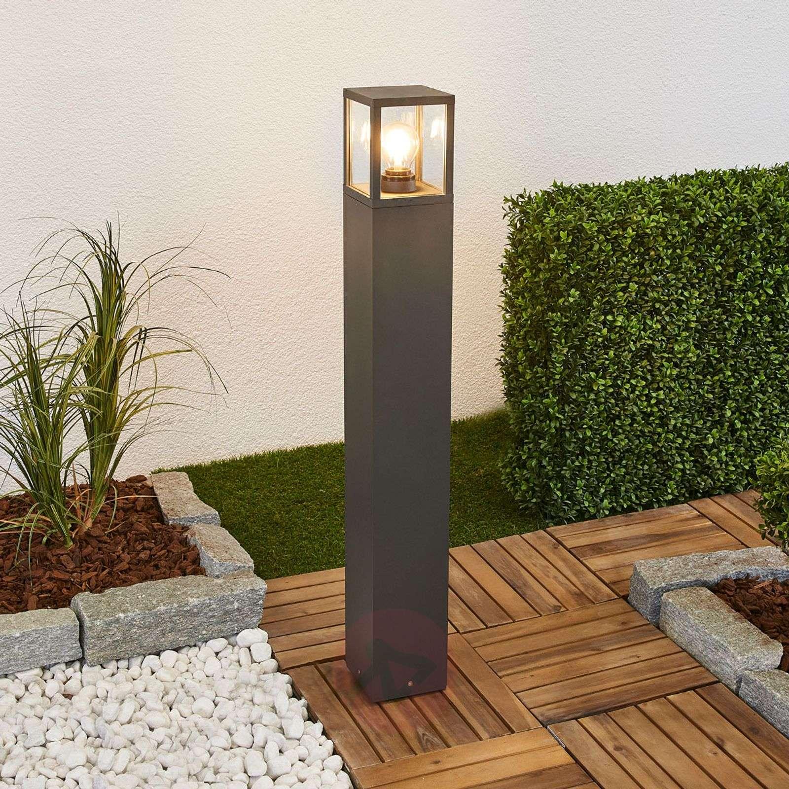 Klemens bollard light with graphite grey surface-9616127-01