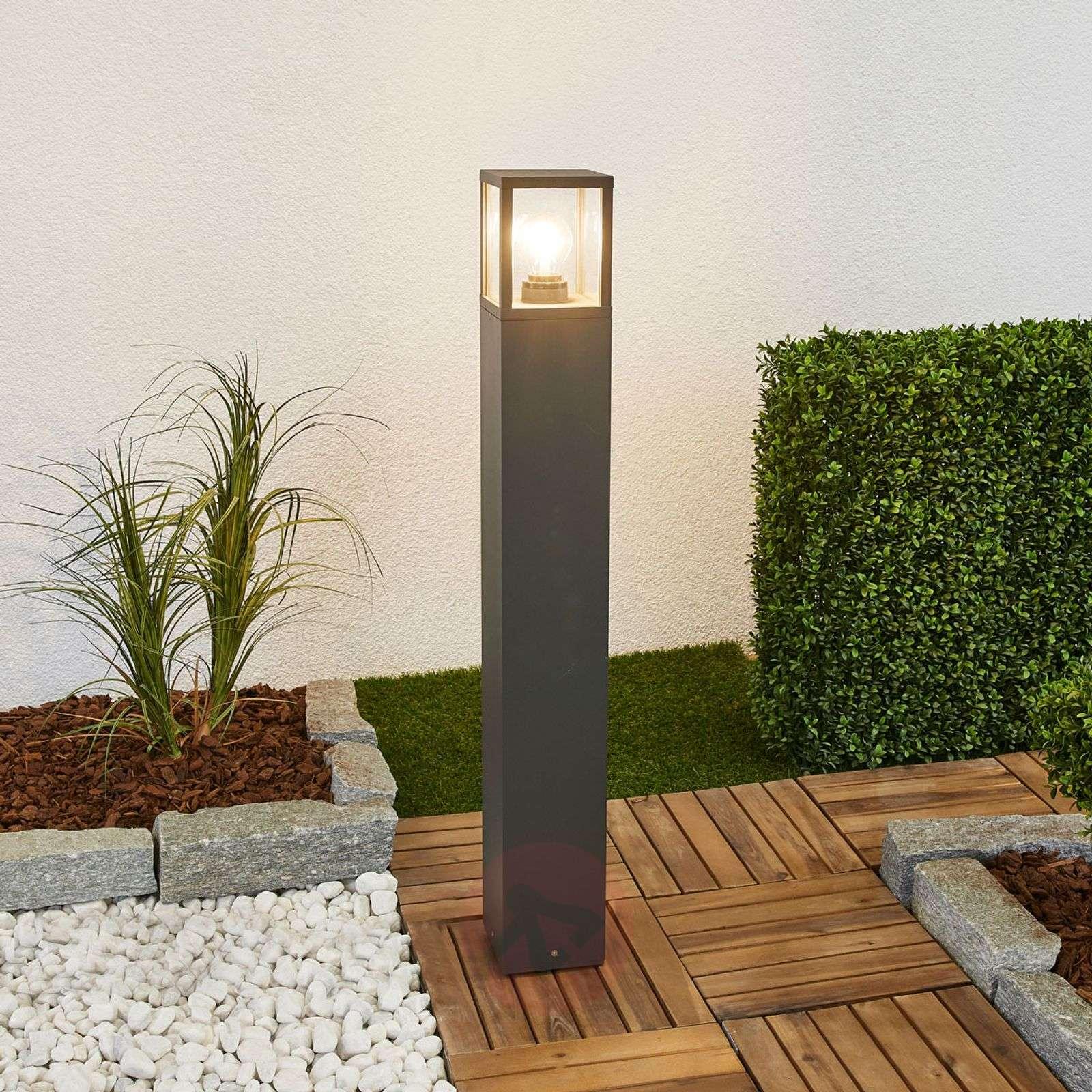 Klemens path light, graphite grey, 90cm high-9616127-01
