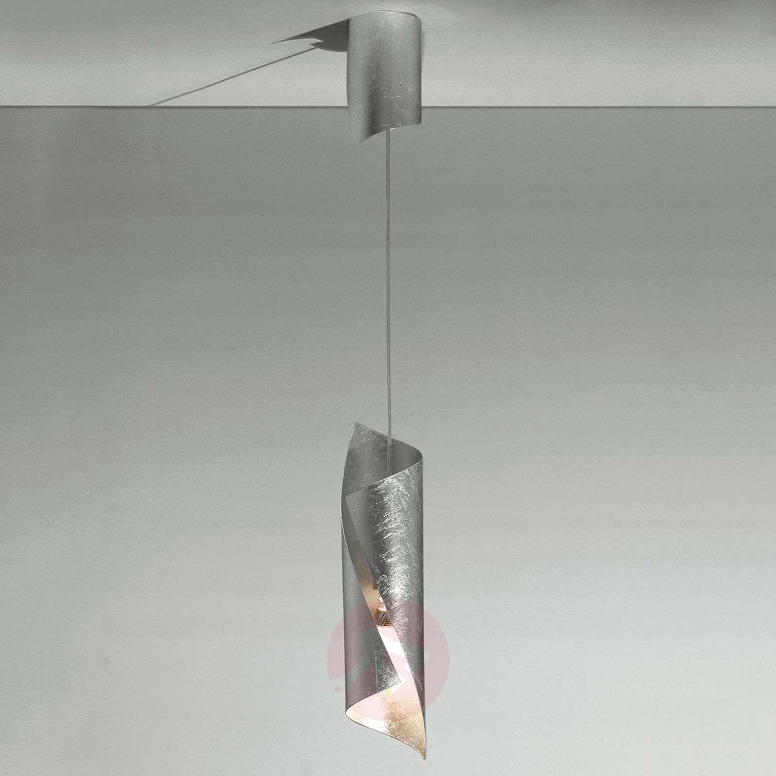 Knikerboker Hué hanging light in silver, one-bulb-5538030-01