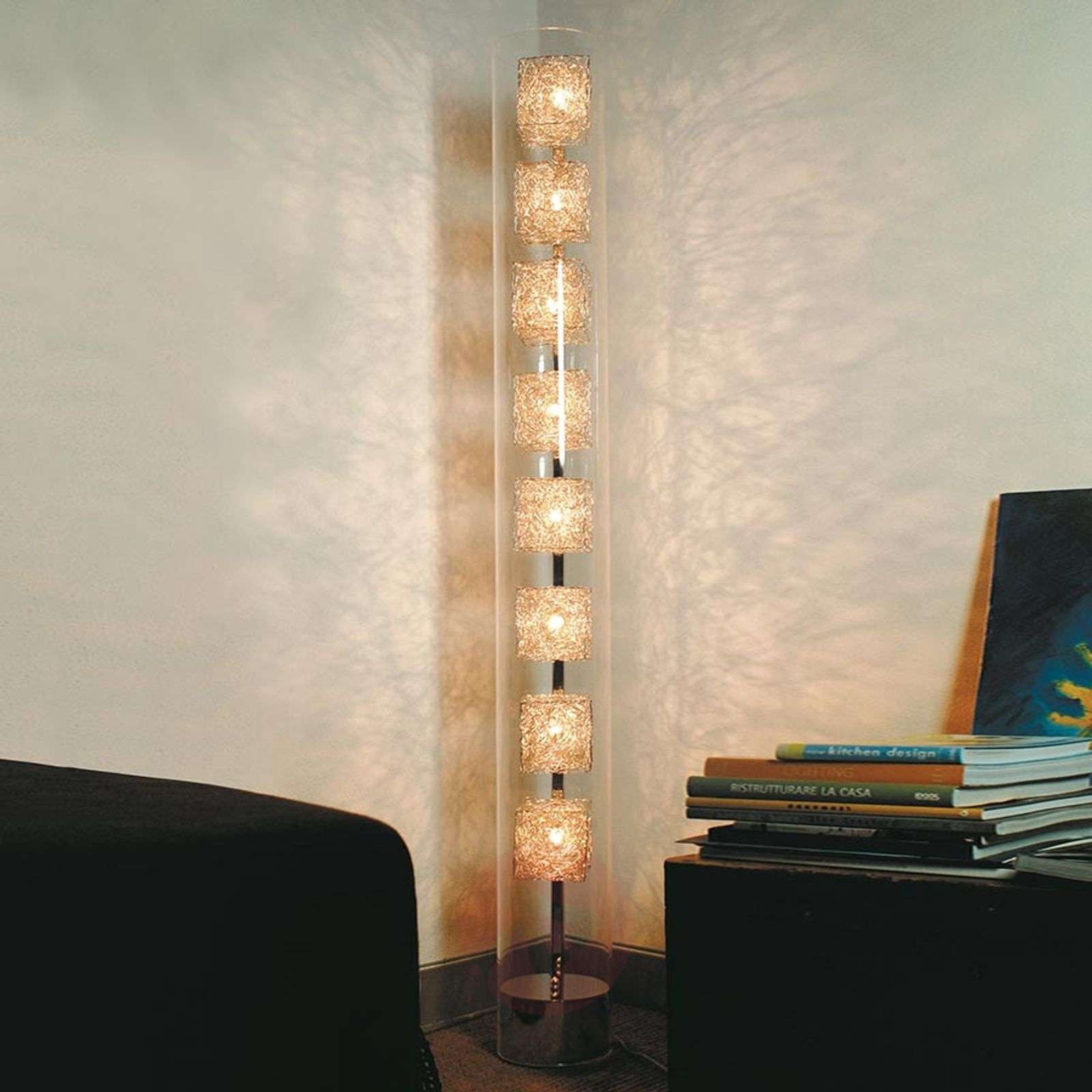 Knikerboker Kubini tube-shaped floor lamp-5538045-01