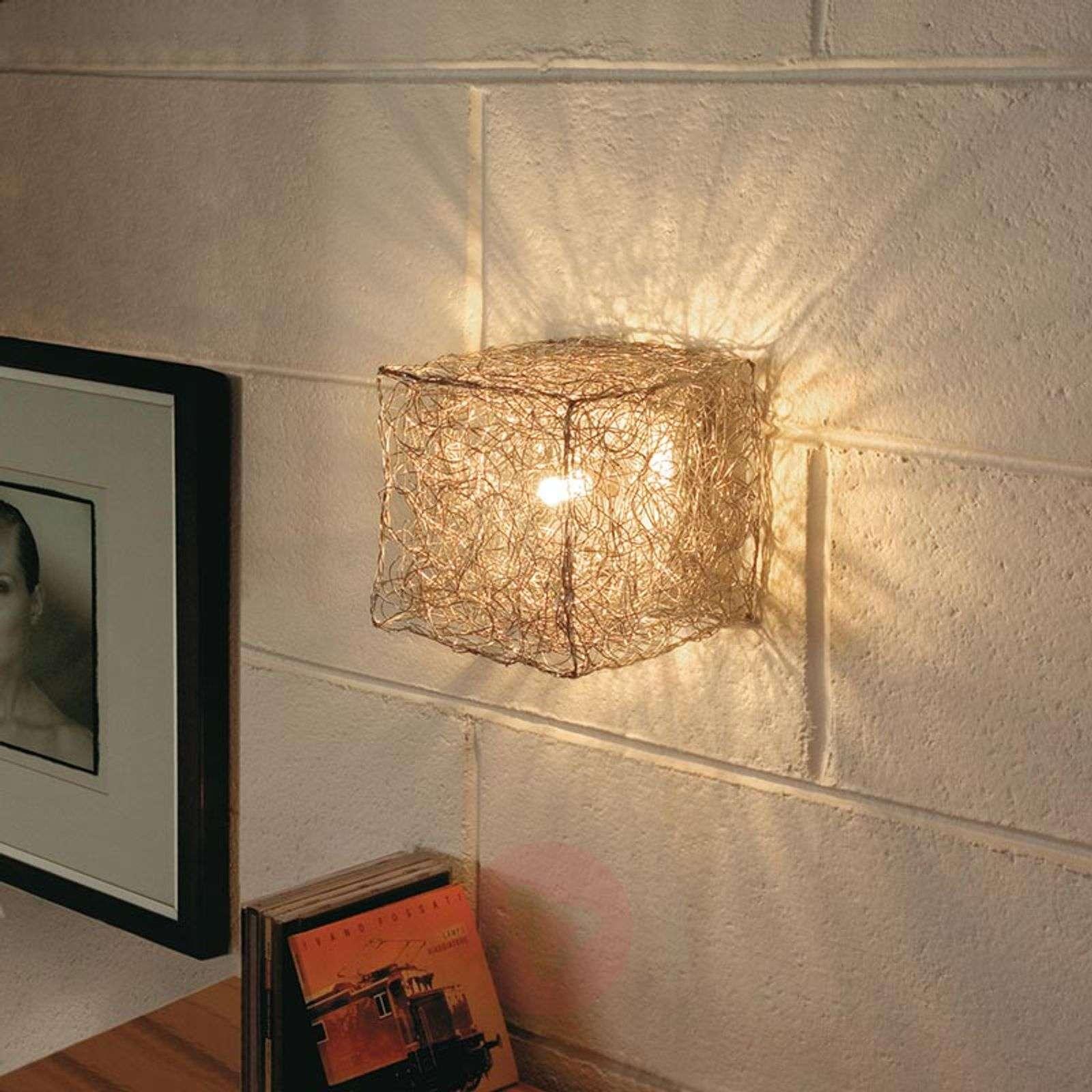 Knikerboker Qubetto cube-shaped wall lamp-5538042-01