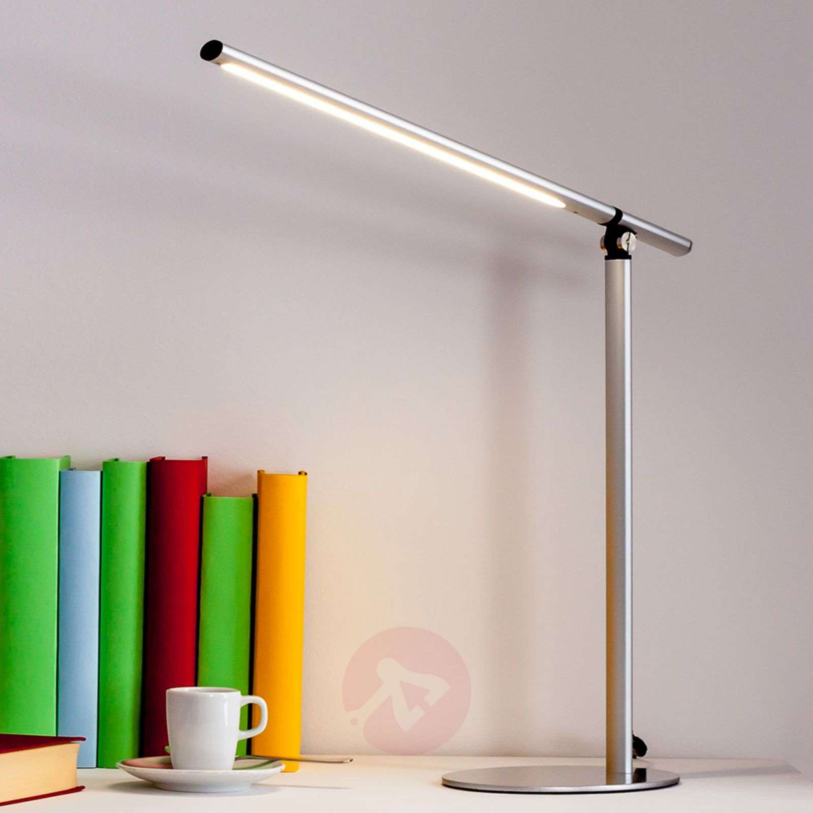 Kolja LED Desk Lamp in Silver Grey-9643009-01