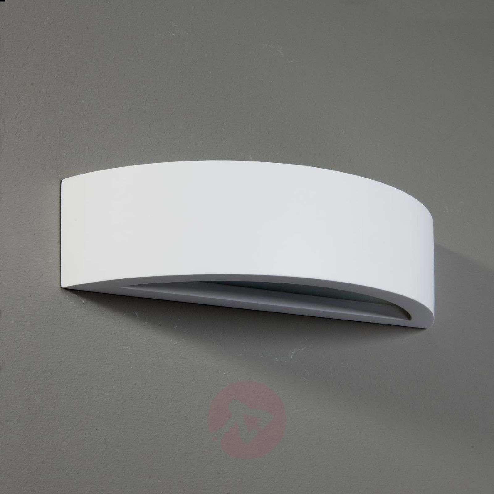 Konstantin Wall Light Curved Plaster White-9613008-01