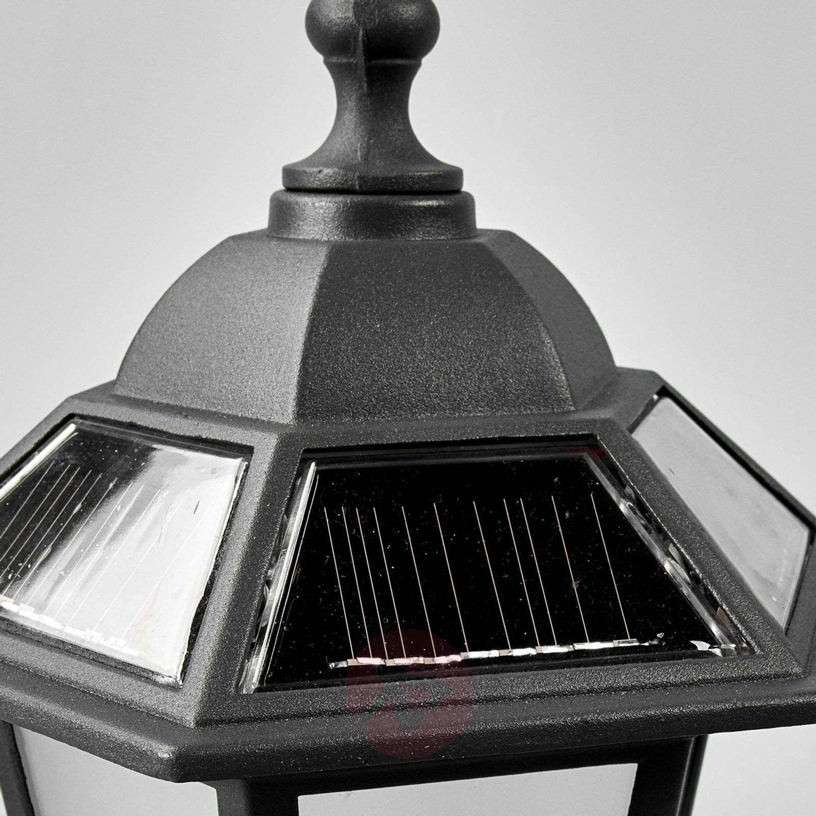 Kristin pillar light with LEDs and solar technology-9955024-02