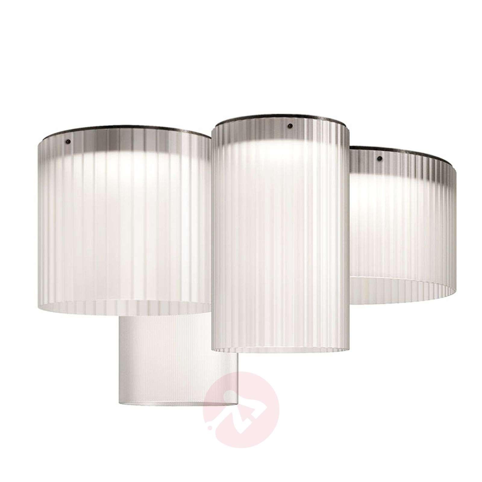 Kundalini Giass LED ceiling light, Ø 40cm-5520223X-01