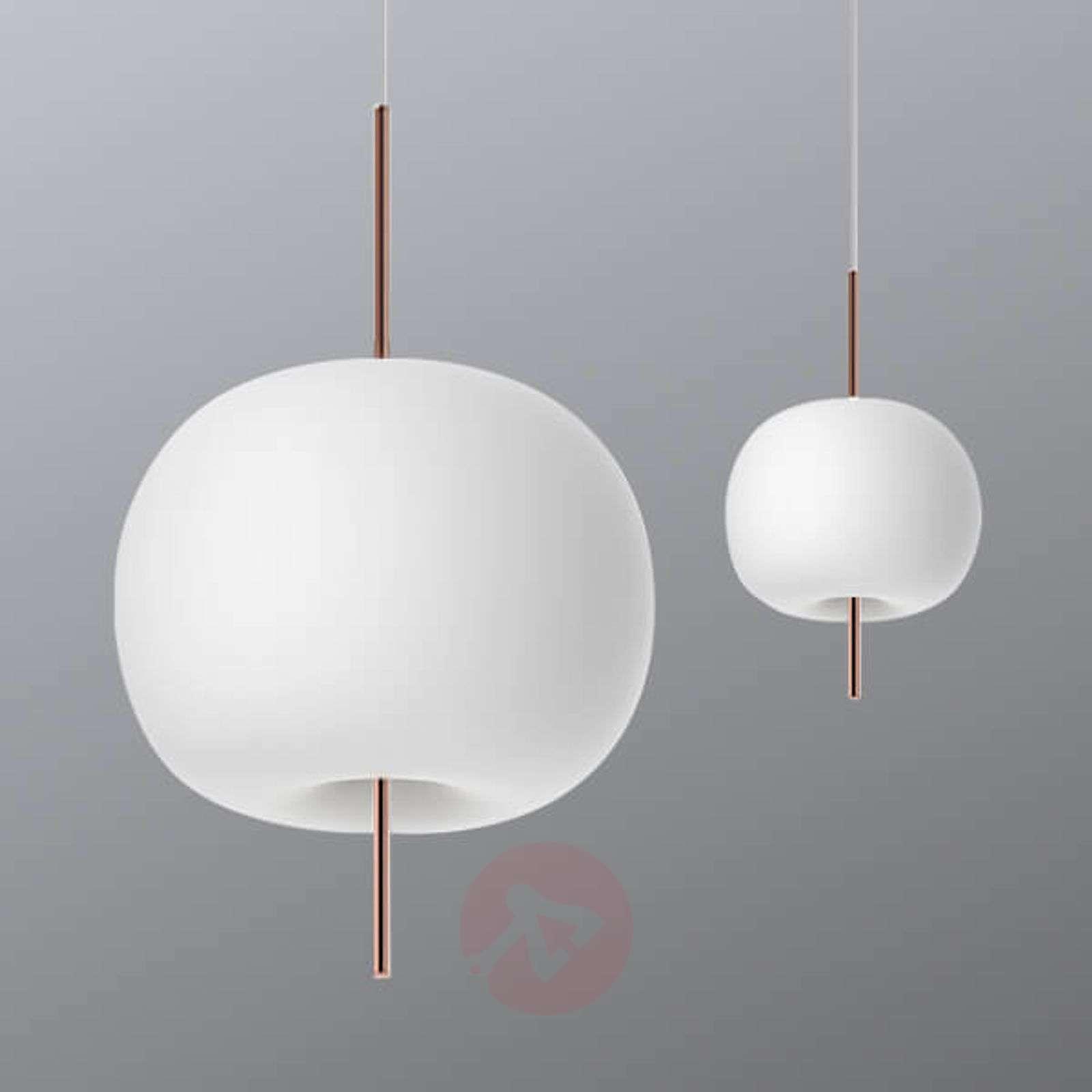 Kundalini Kushi LED hanging light, copper-5520185X-08