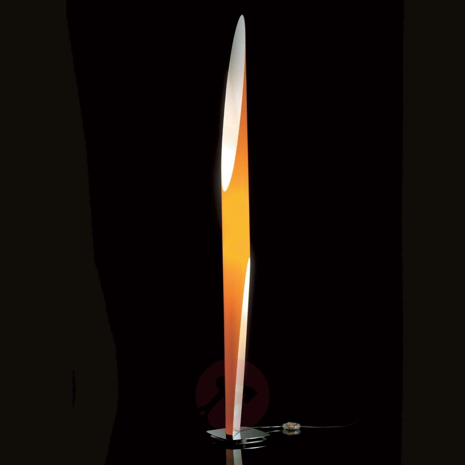 Kundalini Shakti satin-finished floor lamp-5520024X-02