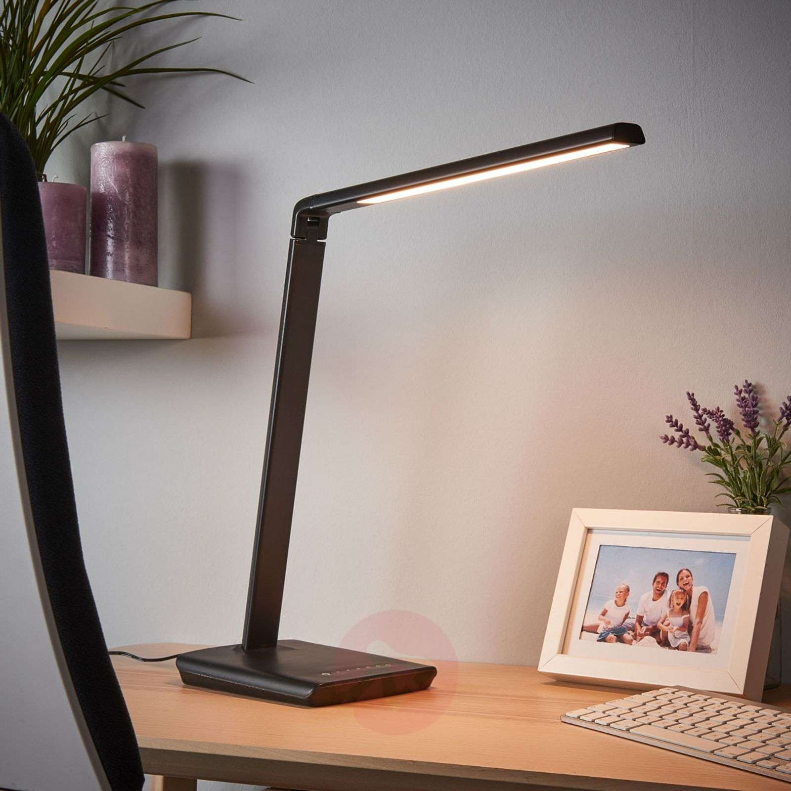 Kuno - LED desk lamp with USB port_9643035_1
