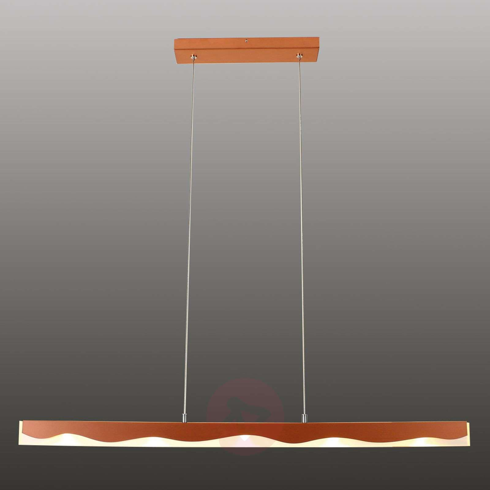 La Mer controllable pendant lamp with a wave form-1556103-01